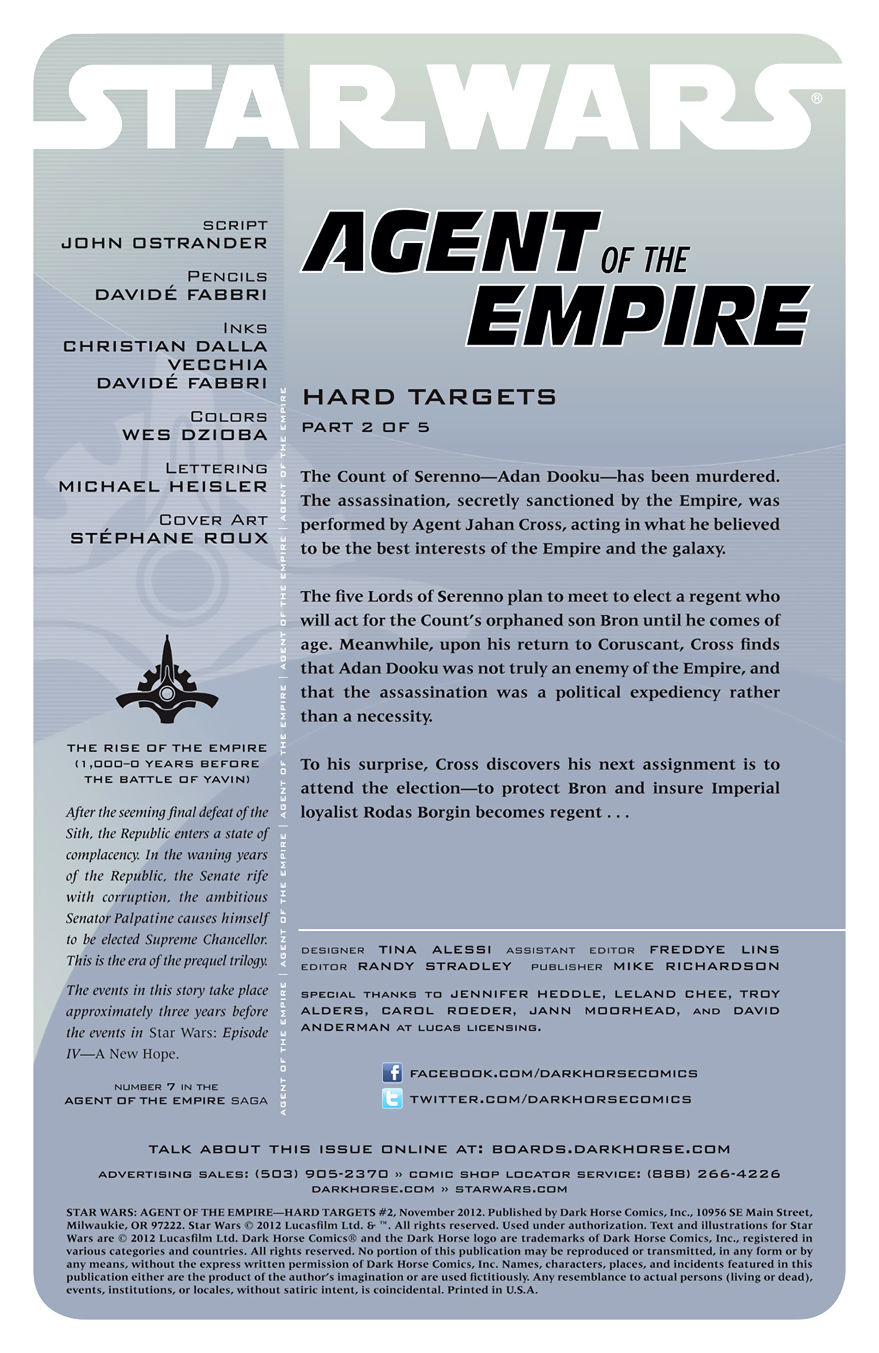 Read online Star Wars: Agent Of The Empire - Hard Targets comic -  Issue #2 - 2