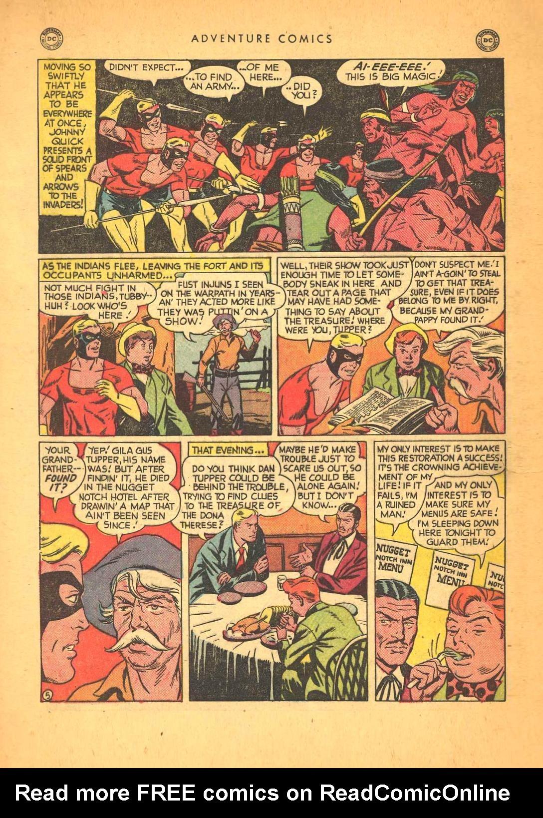 Read online Adventure Comics (1938) comic -  Issue #148 - 45