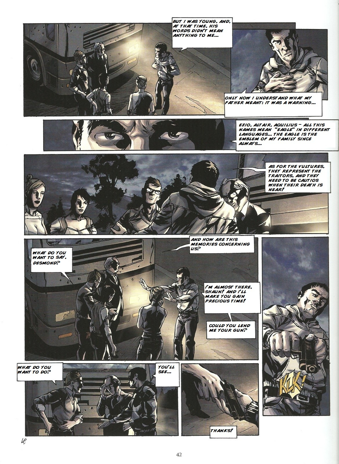 Read online Assassin's Creed (2009) comic -  Issue #2 - 42