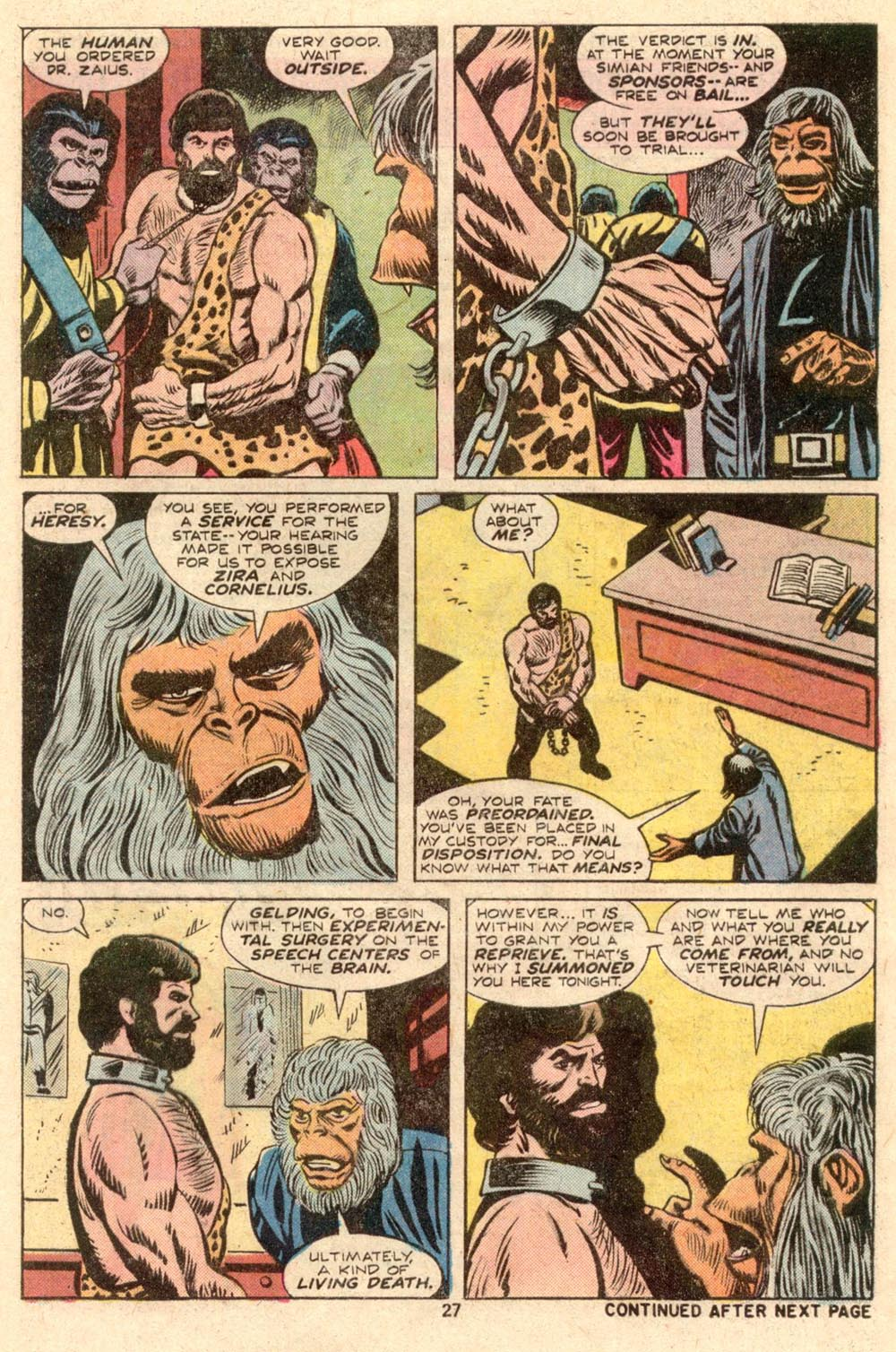 Read online Adventures on the Planet of the Apes comic -  Issue #4 - 18