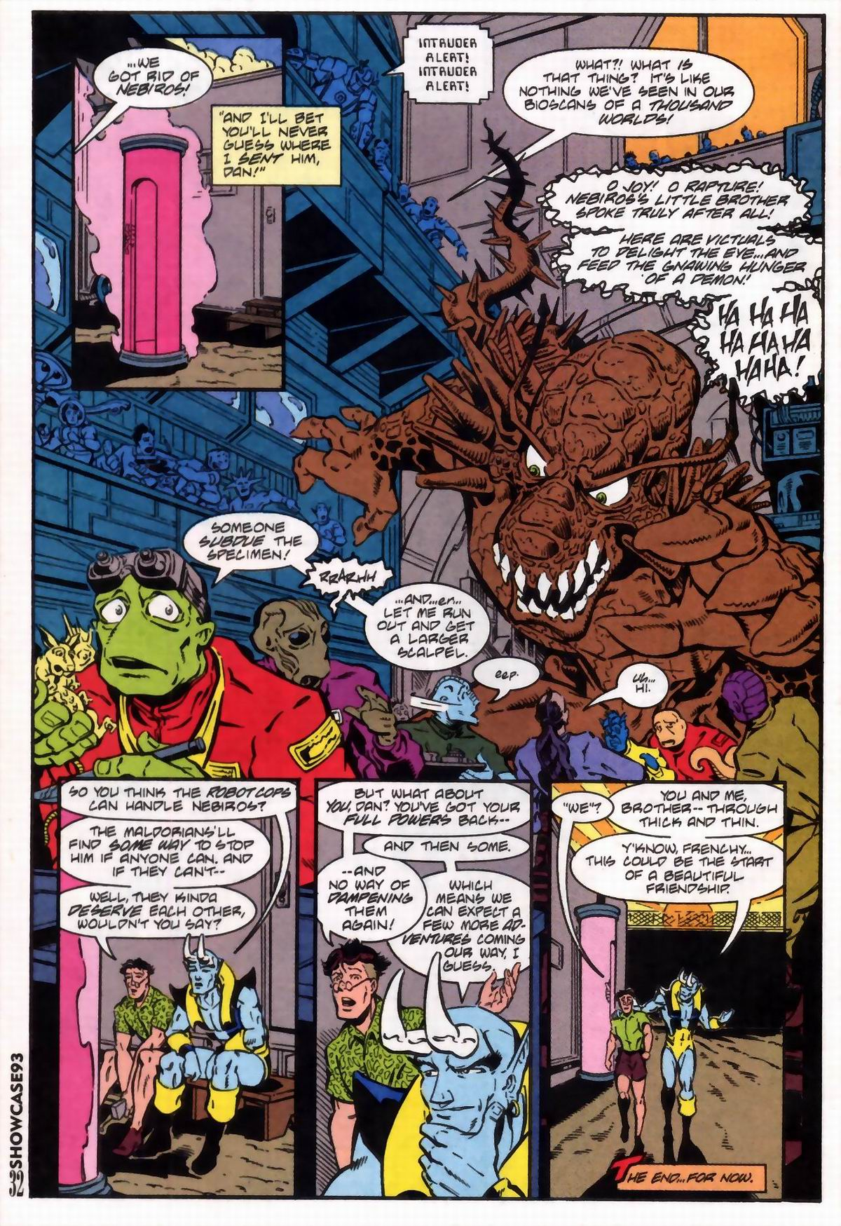 Read online Showcase '93 comic -  Issue #6 - 34