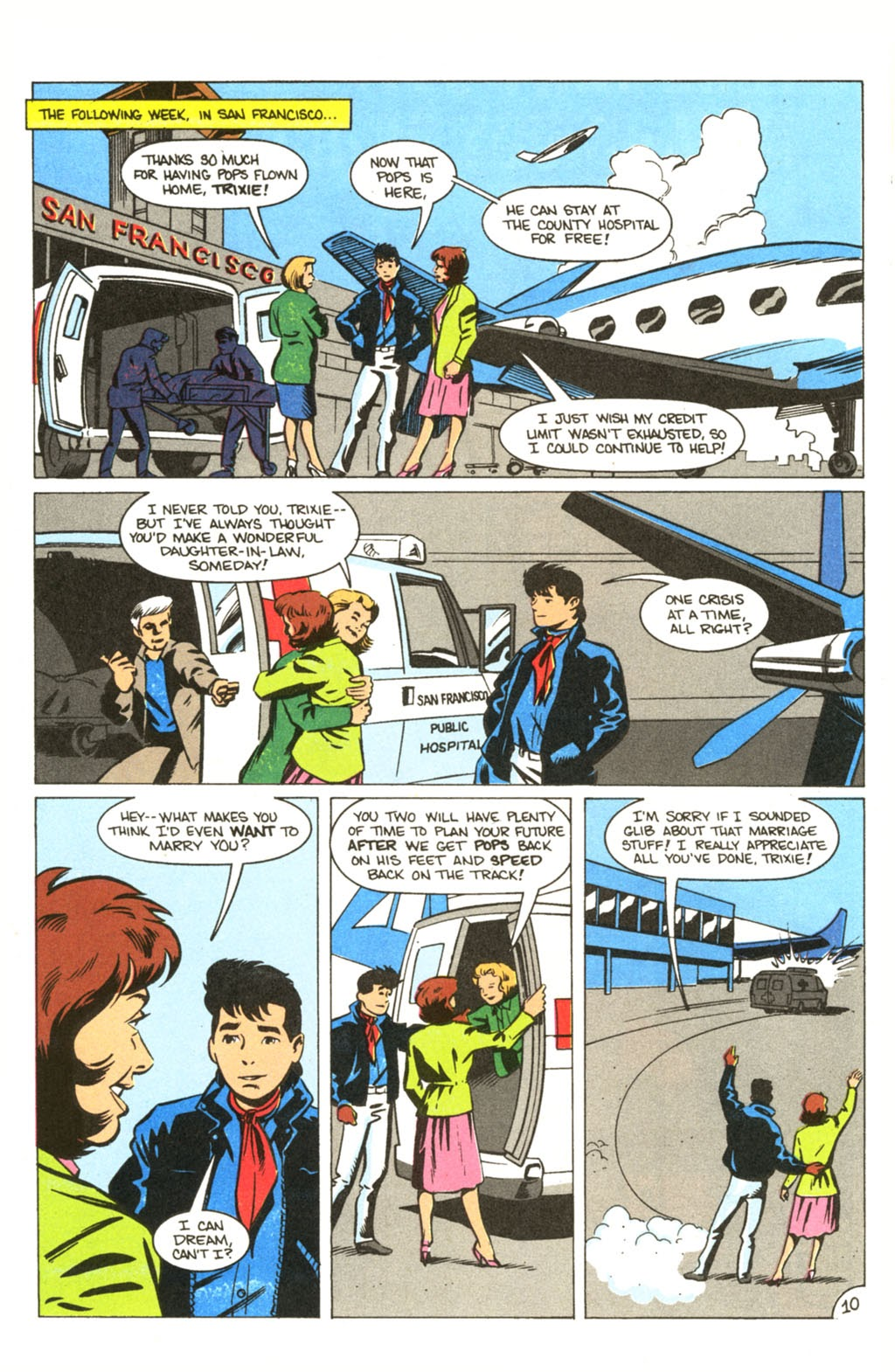 Speed Racer (1987) issue 30 - Page 11