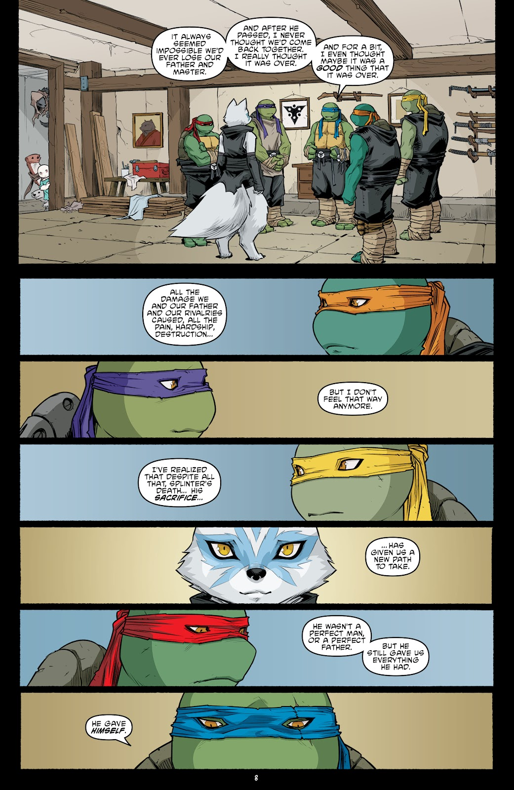 Read online Teenage Mutant Ninja Turtles (2011) comic -  Issue #105 - 10