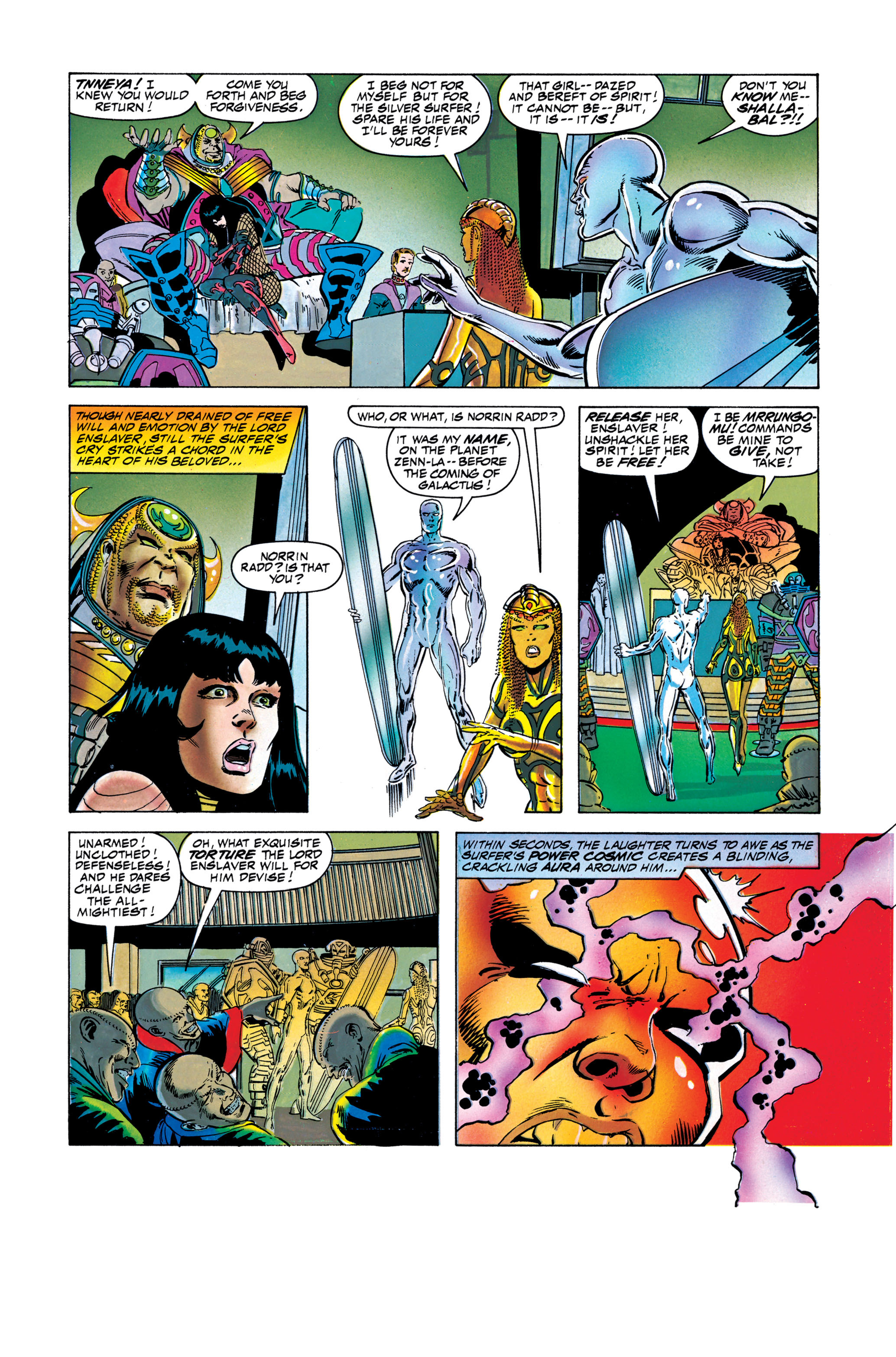 Read online Silver Surfer: Parable comic -  Issue # TPB - 110