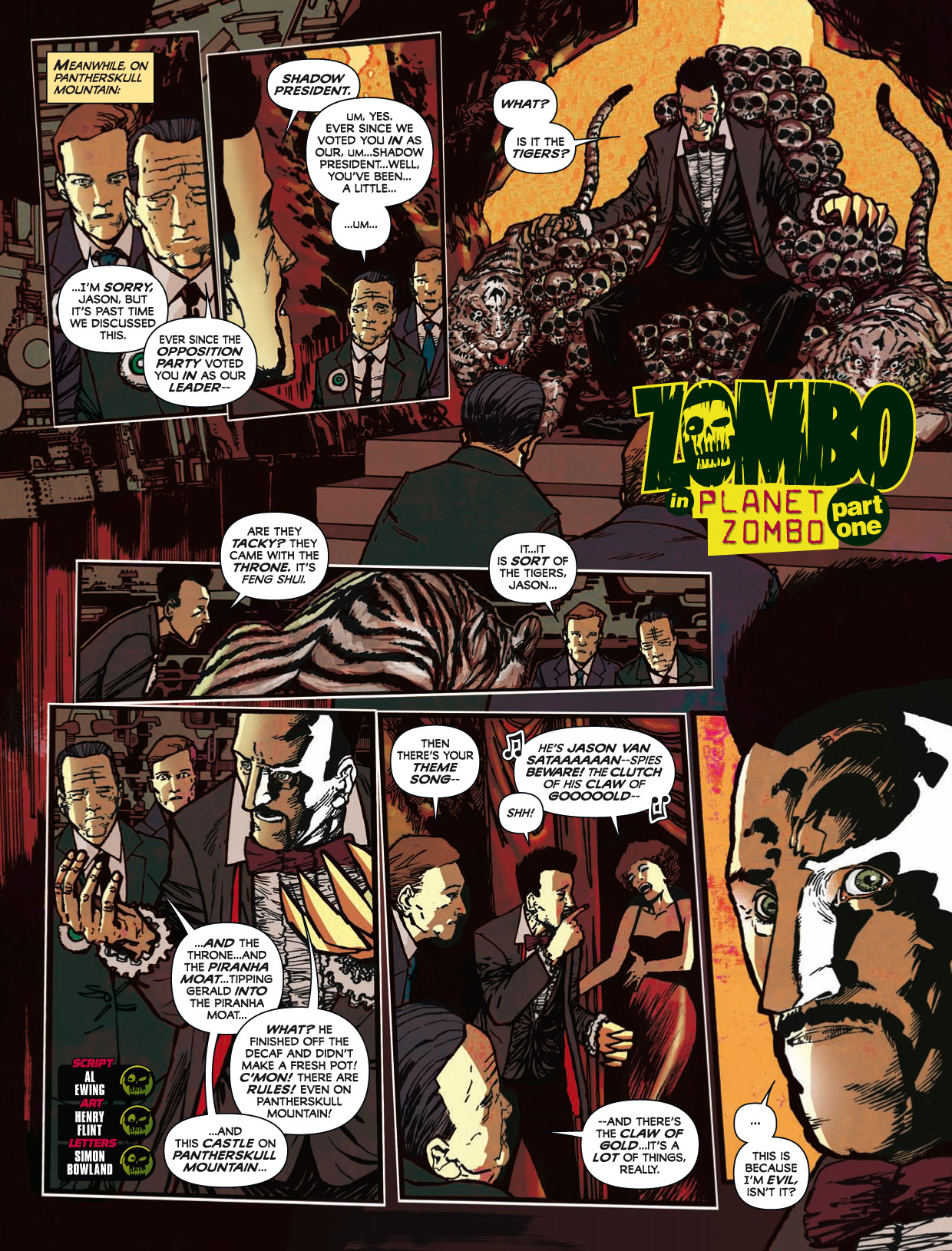 Read online 2000 AD comic -  Issue #1746 - 141