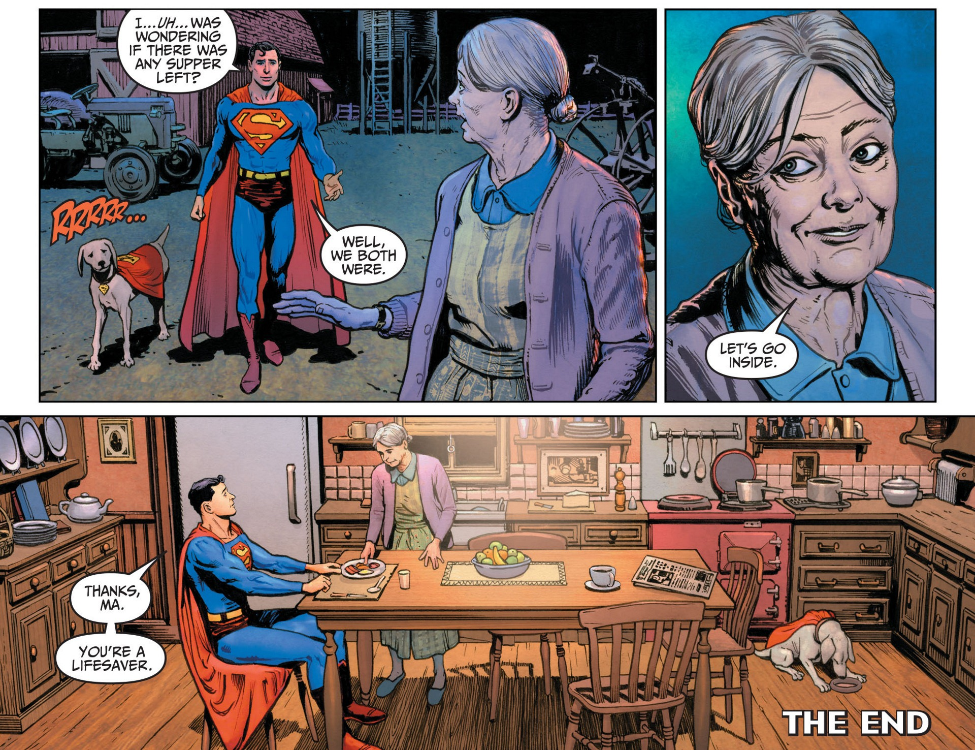 Read online Adventures of Superman [I] comic -  Issue #12 - 22