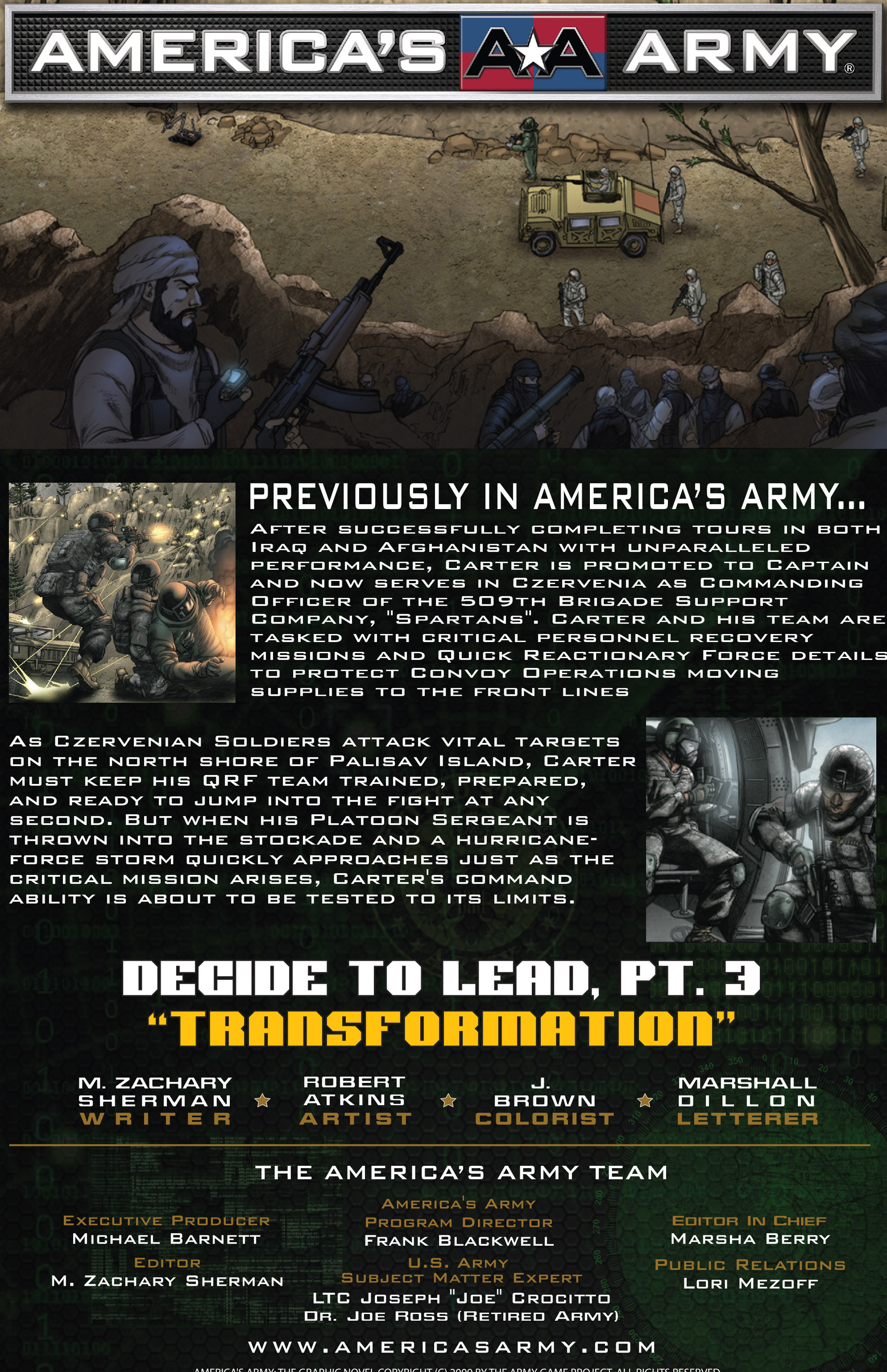 Read online America's Army comic -  Issue #15 - 2