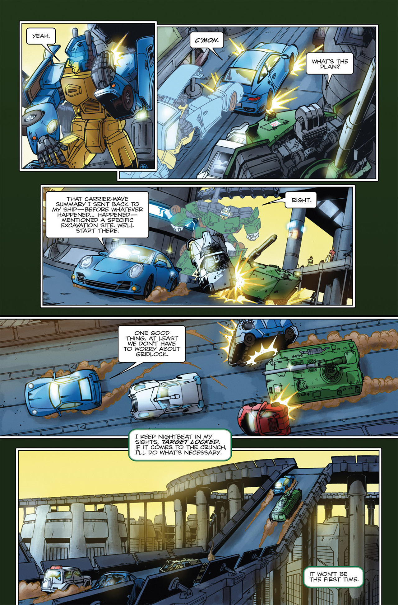 Read online Transformers Spotlight: Hardhead comic -  Issue # Full - 7