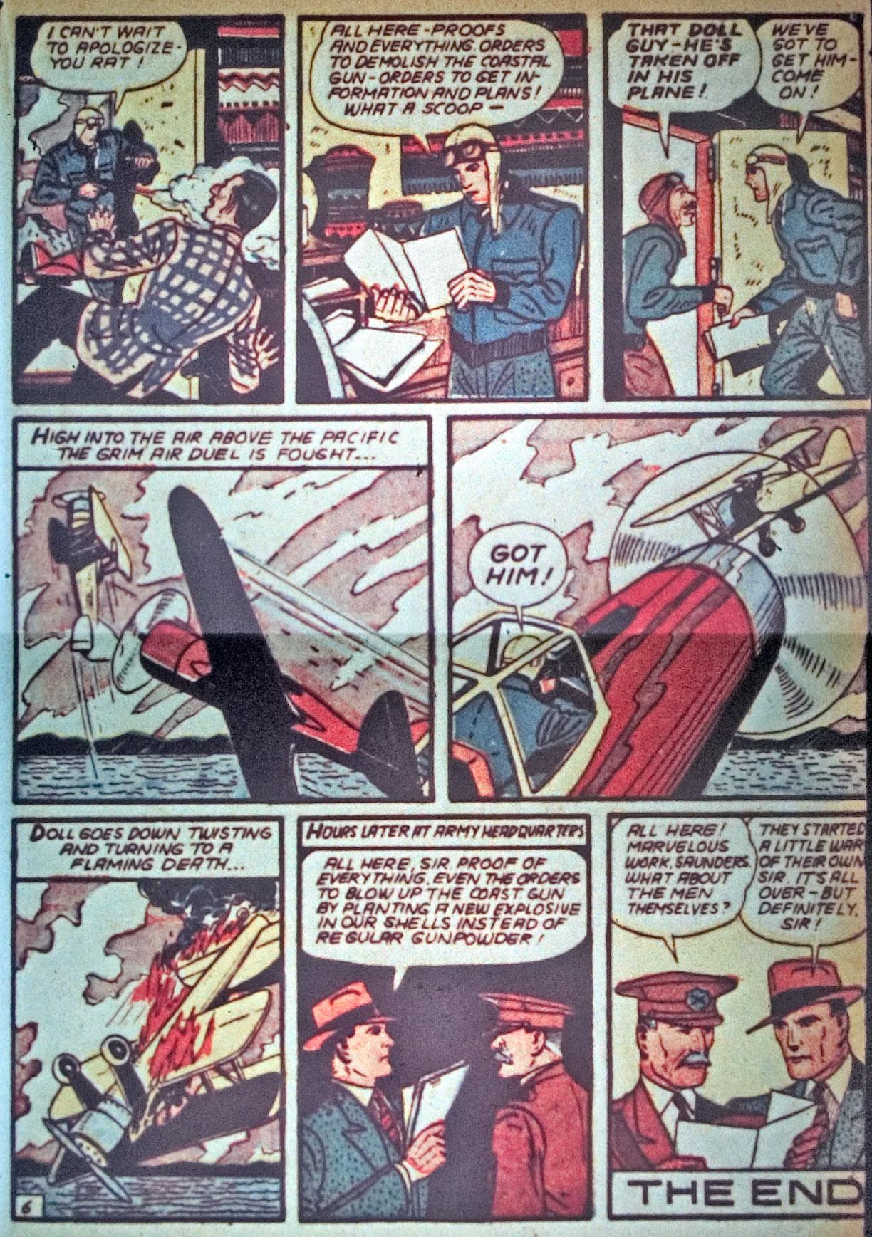 Read online Detective Comics (1937) comic -  Issue #34 - 41