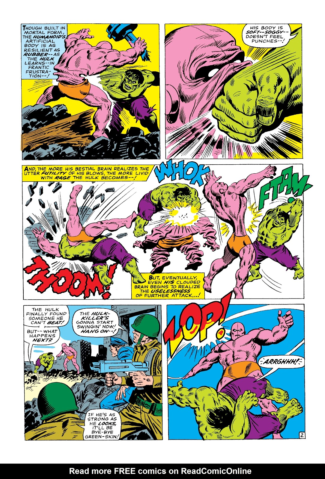 Read online Marvel Masterworks: The Incredible Hulk comic -  Issue # TPB 3 (Part 1) - 86