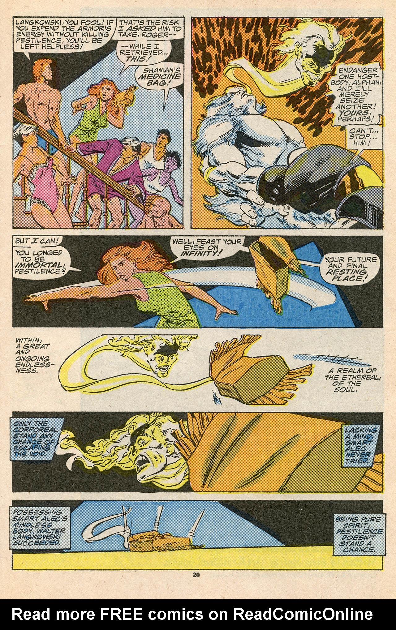 Read online Alpha Flight (1983) comic -  Issue #45 - 29
