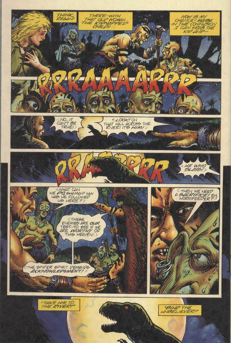 Read online Turok, Dinosaur Hunter (1993) comic -  Issue #8 - 20