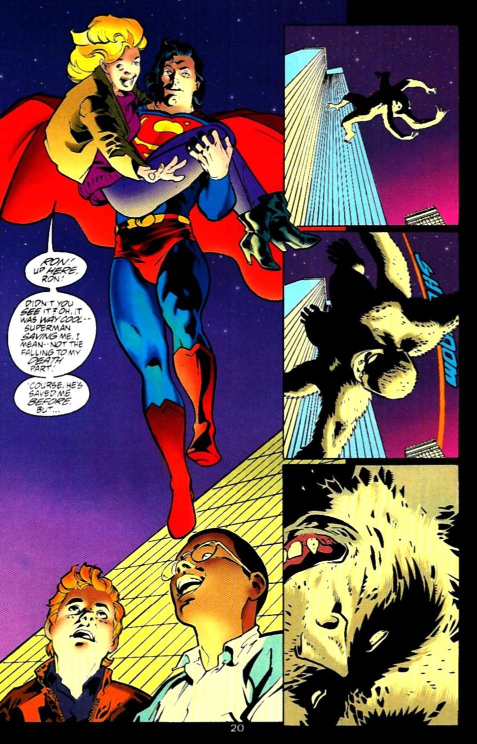 Read online Adventures of Superman (1987) comic -  Issue #537 - 21