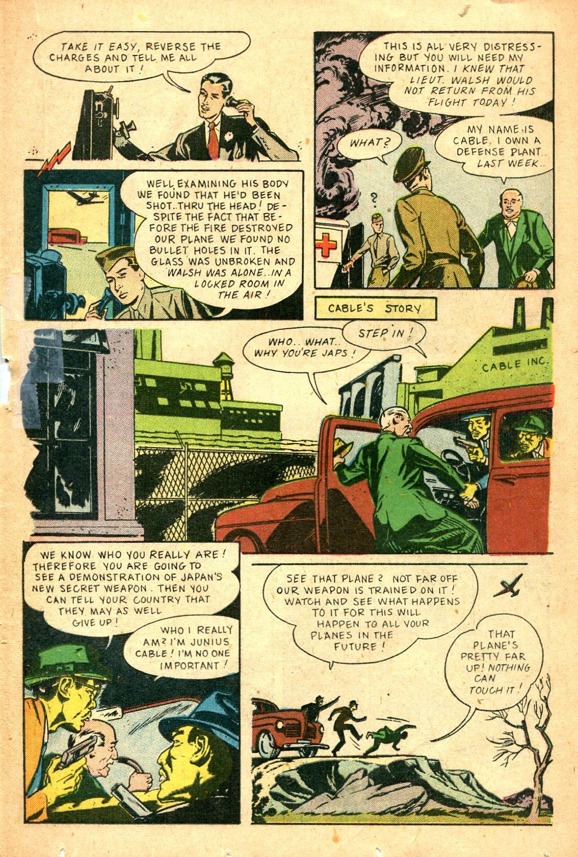 Read online Shadow Comics comic -  Issue #47 - 28