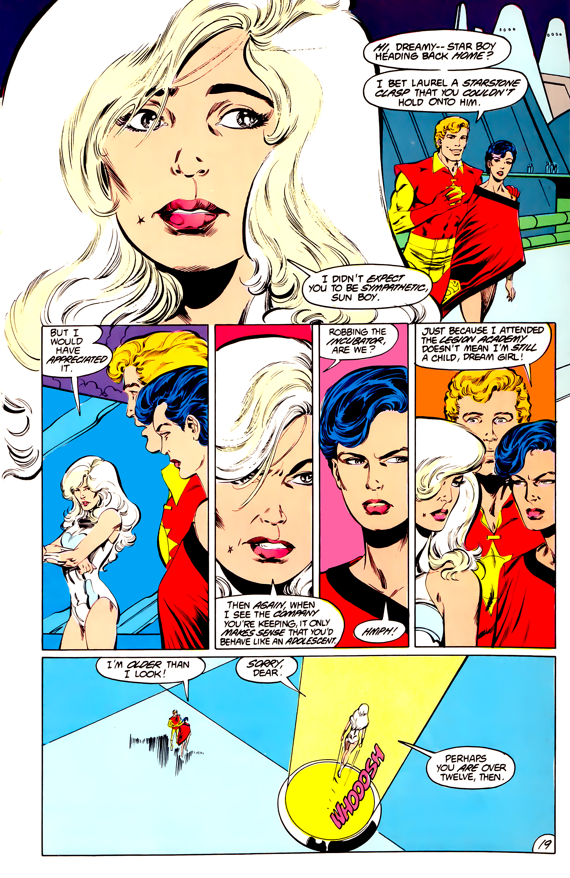 Legion of Super-Heroes (1984) 40 Page 19