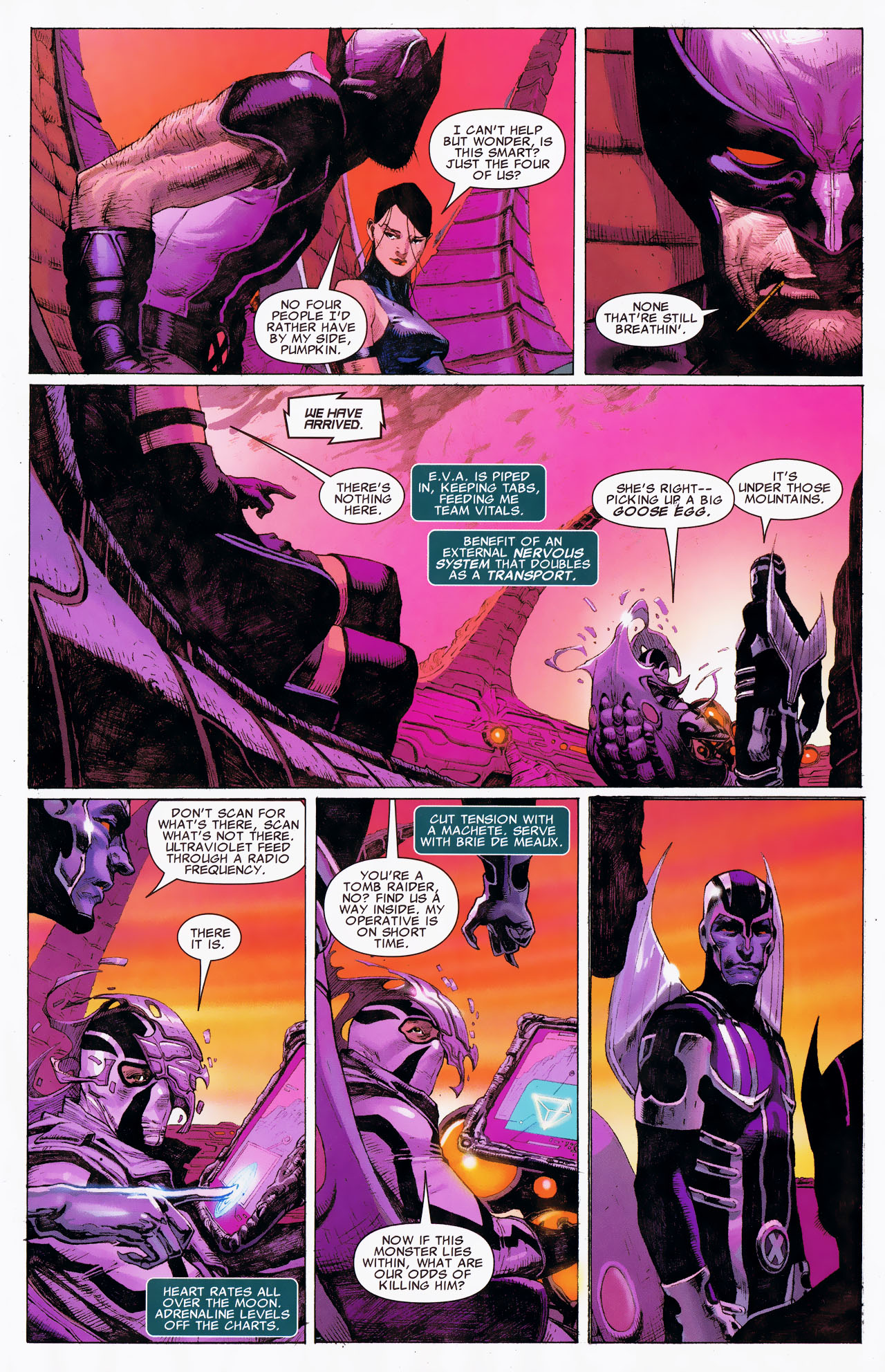 Read online Uncanny X-Force: The Apocalypse Solution comic -  Issue # Full - 17