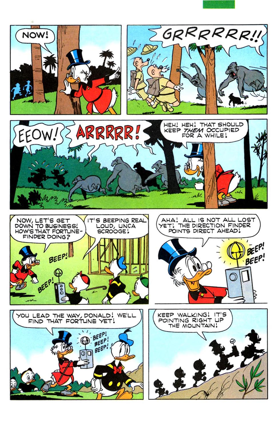 Read online Uncle Scrooge (1953) comic -  Issue #288 - 26