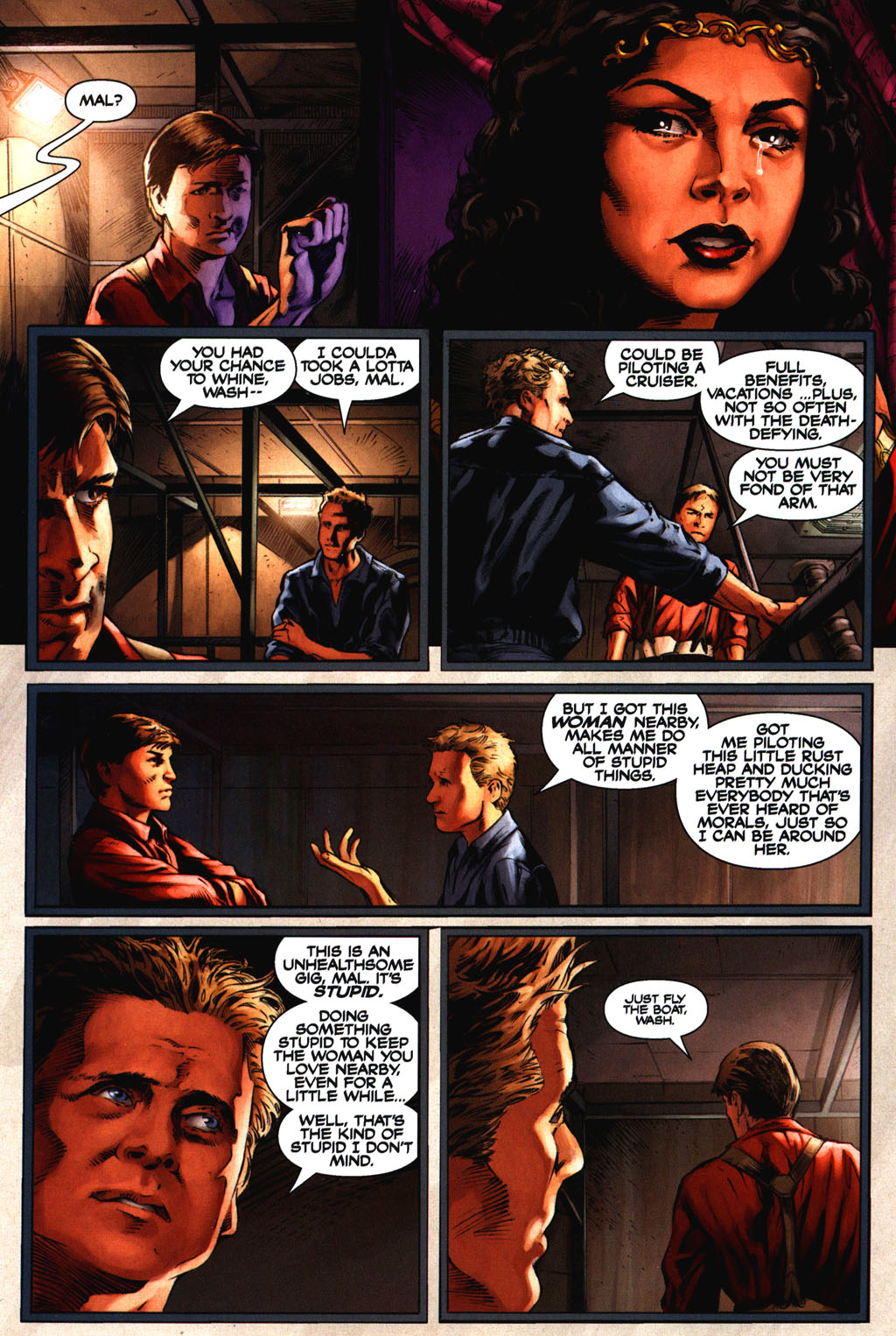 Read online Serenity comic -  Issue #2 - 23