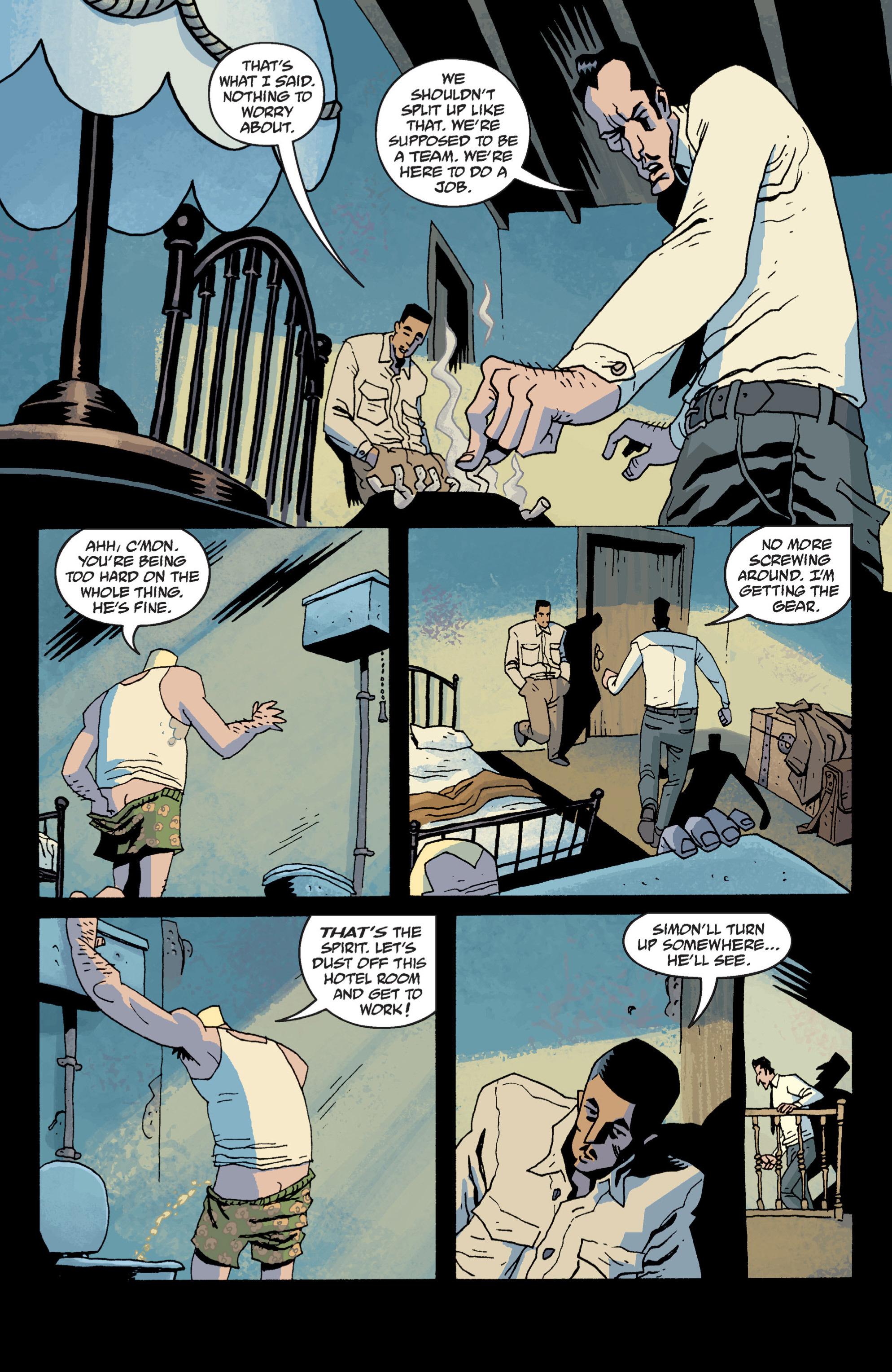 Read online B.P.R.D. (2003) comic -  Issue # TPB 13 - 47