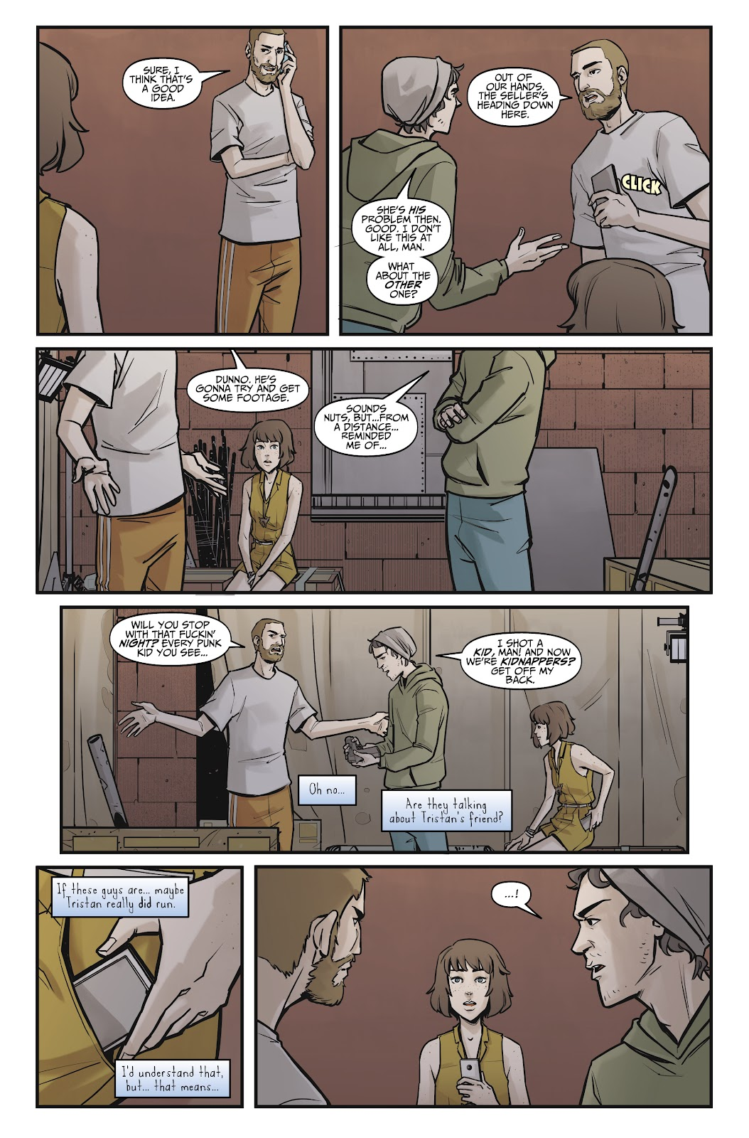 Read online Life is Strange comic -  Issue #8 - 19