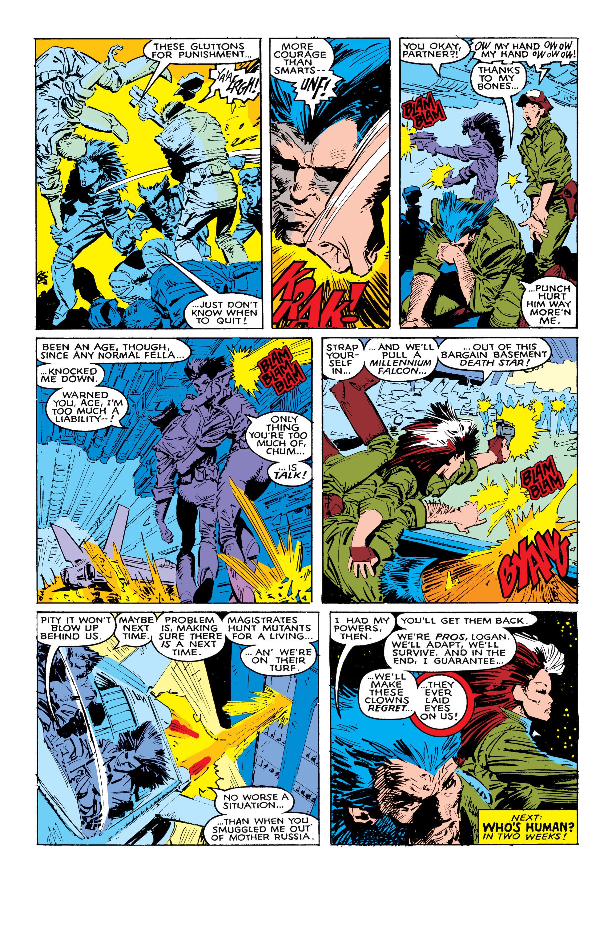 Read online Uncanny X-Men (1963) comic -  Issue #236 - 23
