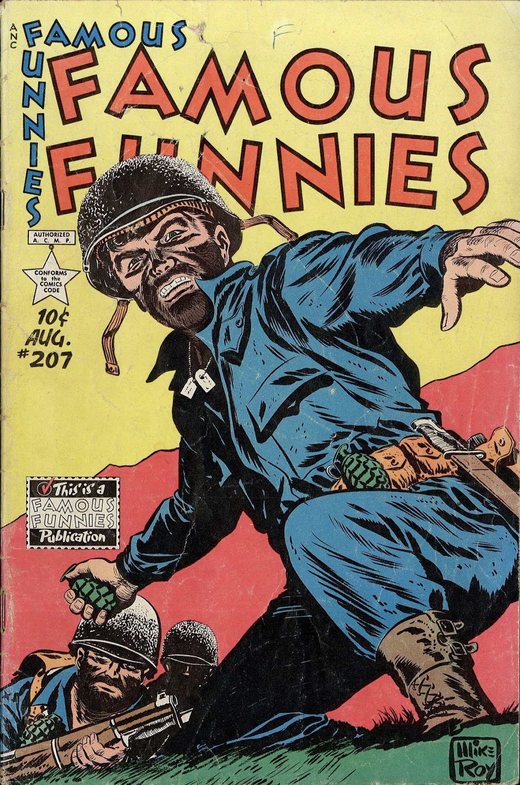 Read online Famous Funnies comic -  Issue #207 - 1