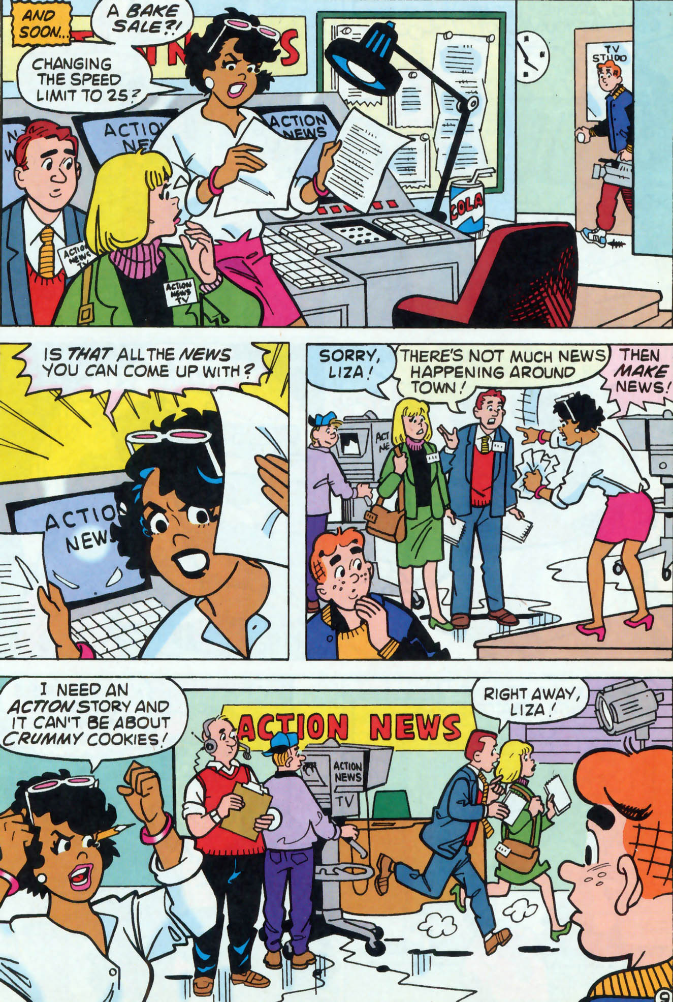 Read online Archie (1960) comic -  Issue #458 - 10