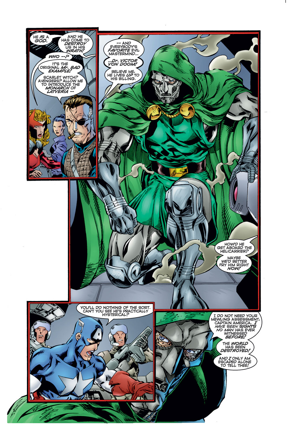 Read online Avengers (1996) comic -  Issue #12 - 6