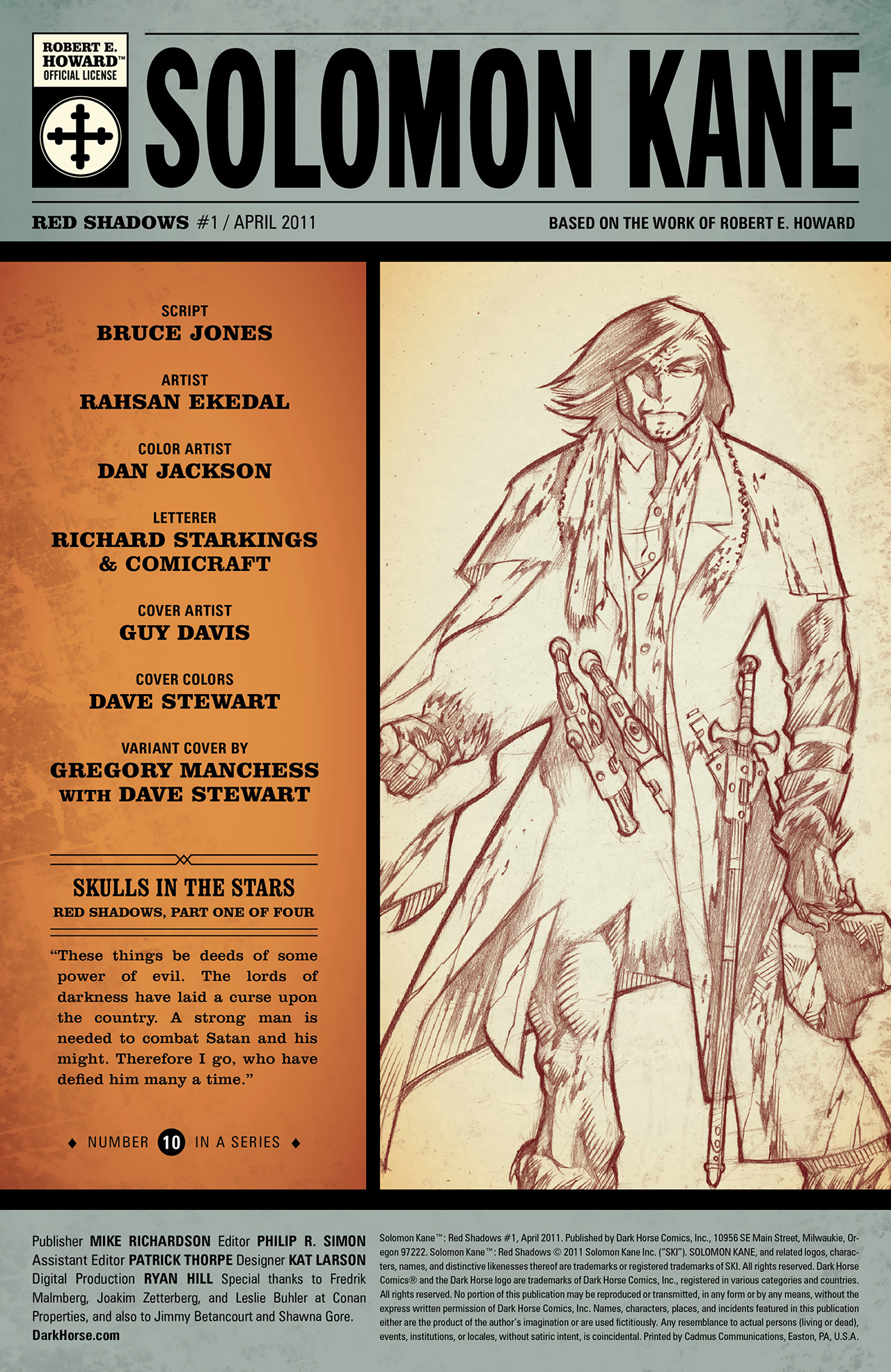 Read online Solomon Kane: Red Shadows comic -  Issue #1 - 3