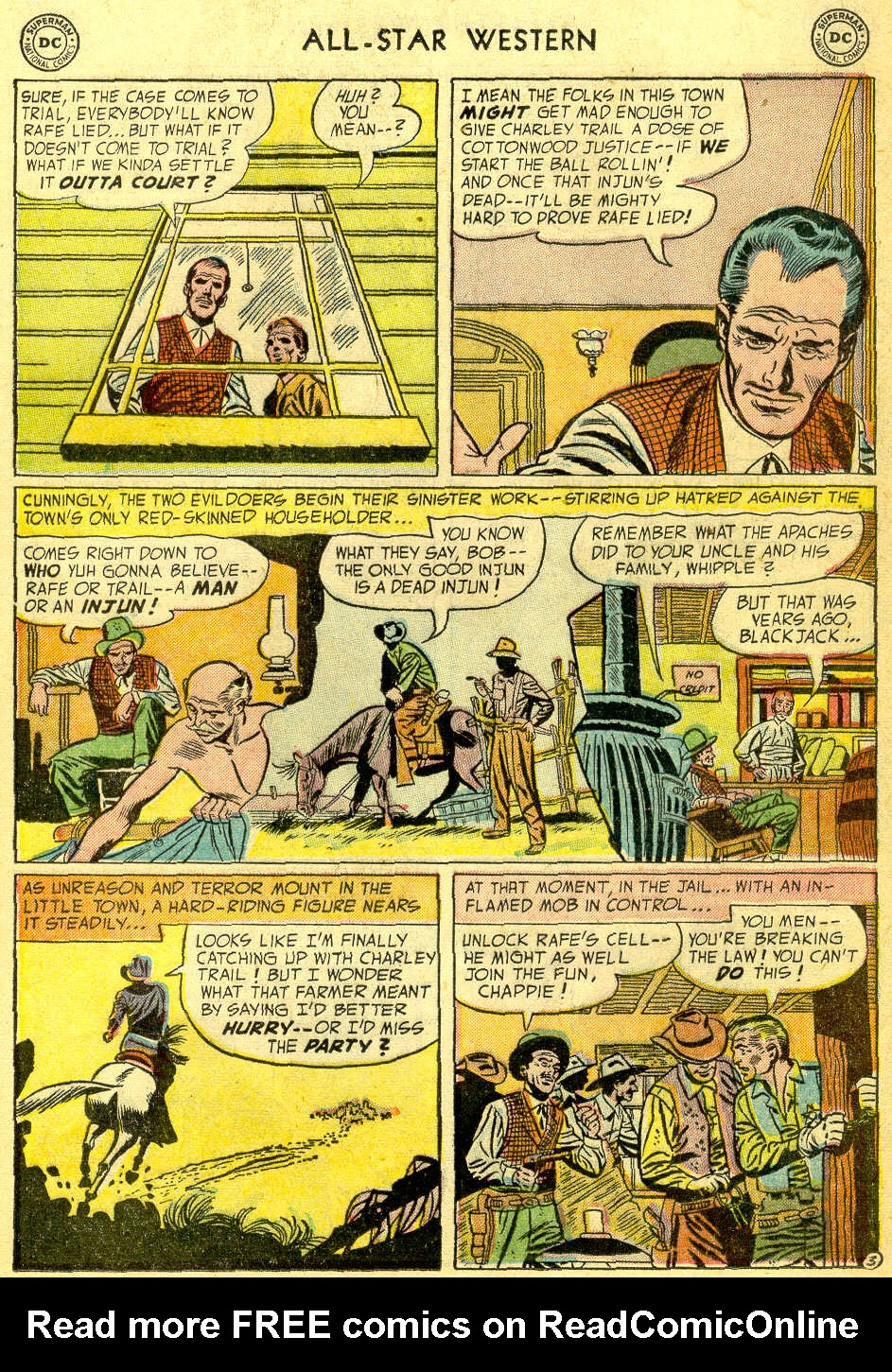 Read online All-Star Western (1951) comic -  Issue #75 - 21