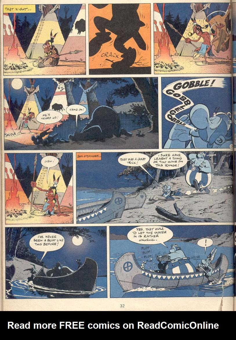 Read online Asterix comic -  Issue #22 - 29
