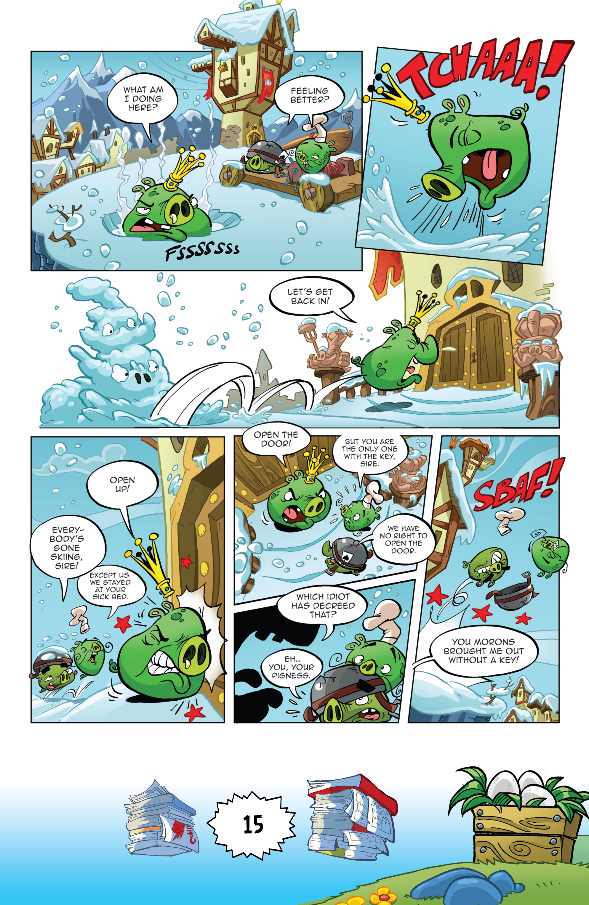Read online Angry Birds Comics (2016) comic -  Issue #6 - 17