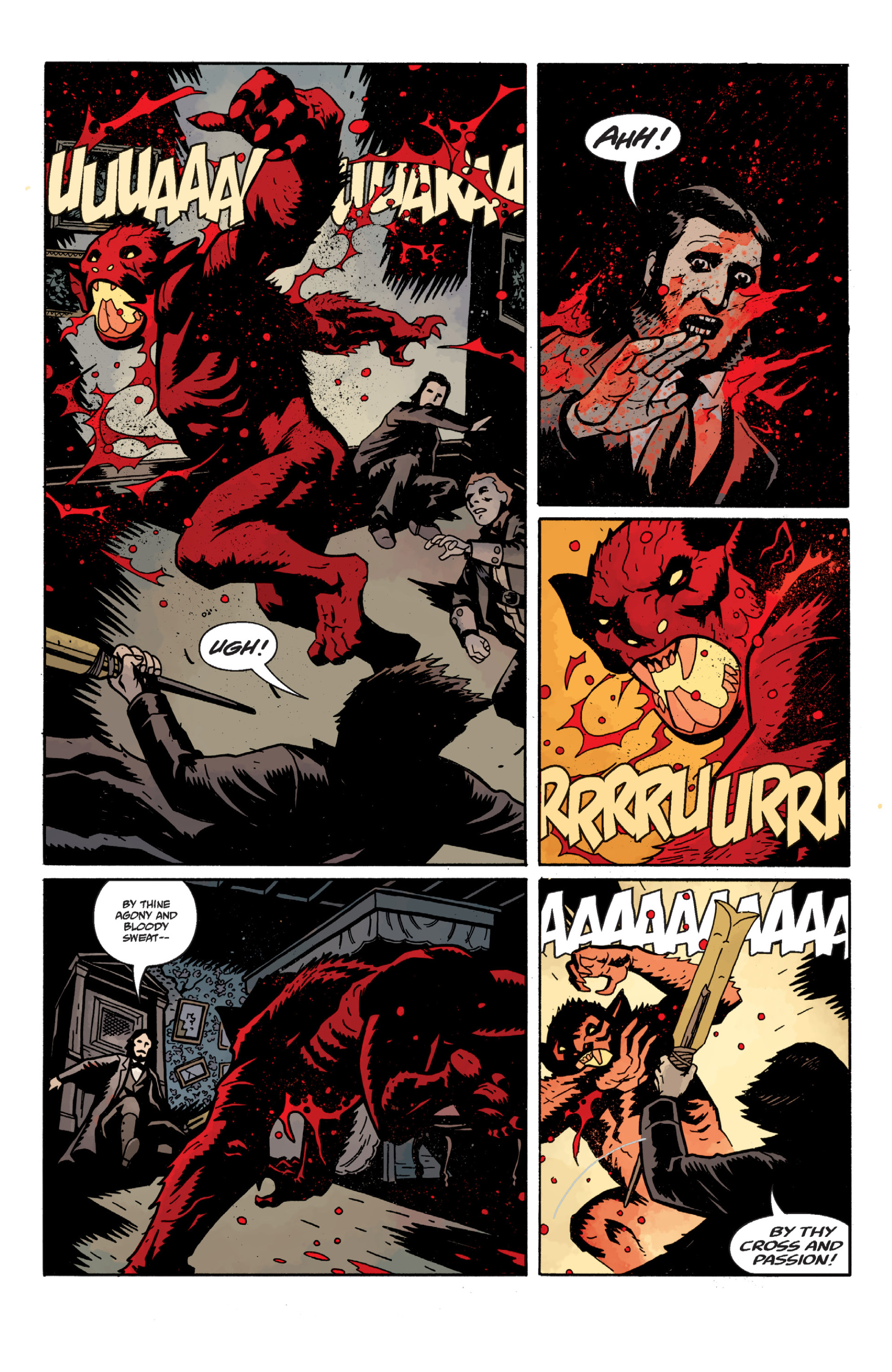 Read online Sir Edward Grey, Witchfinder: In the Service of Angels comic -  Issue # TPB - 59