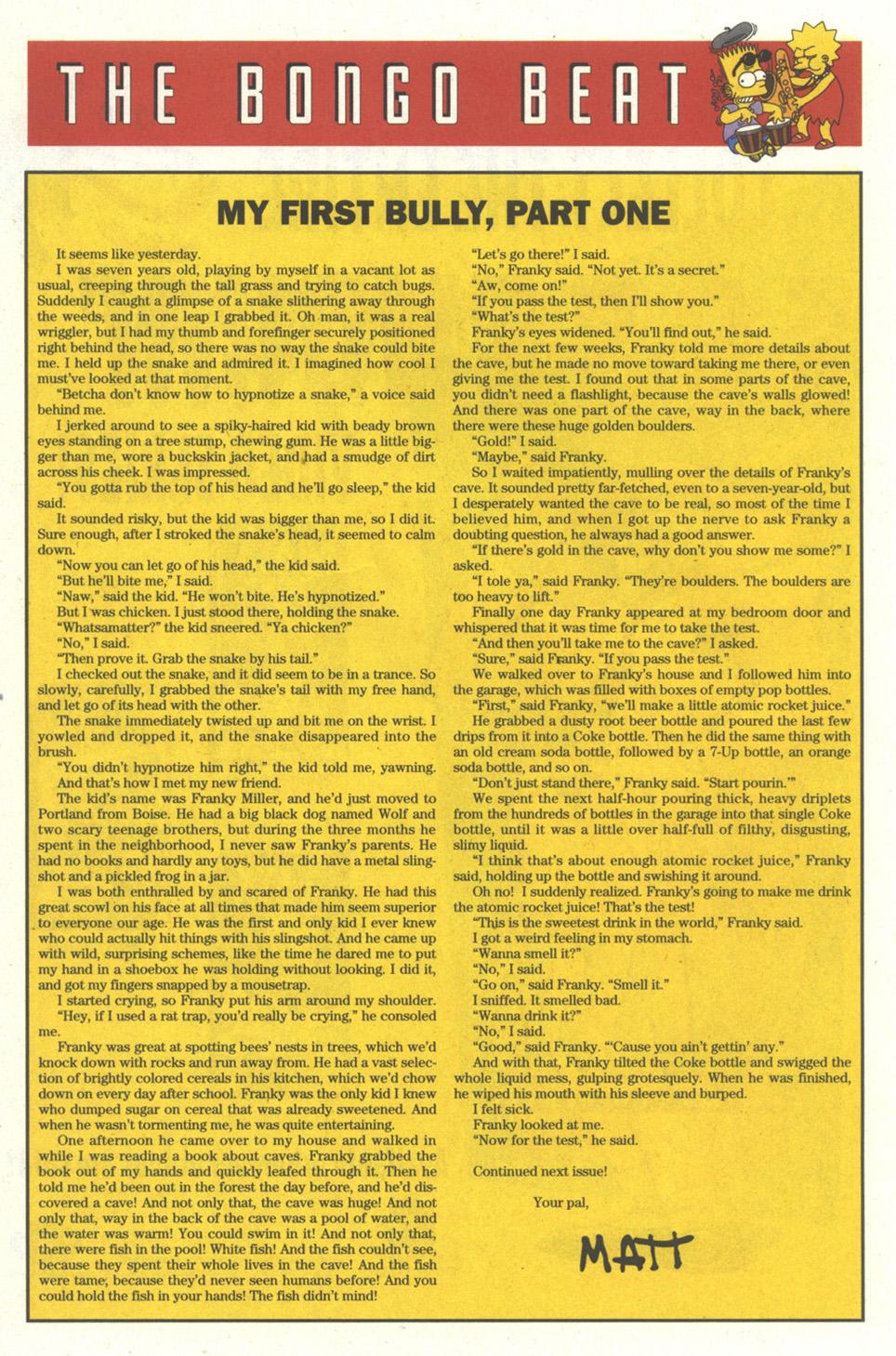 Read online Simpsons Comics comic -  Issue #15 - 21