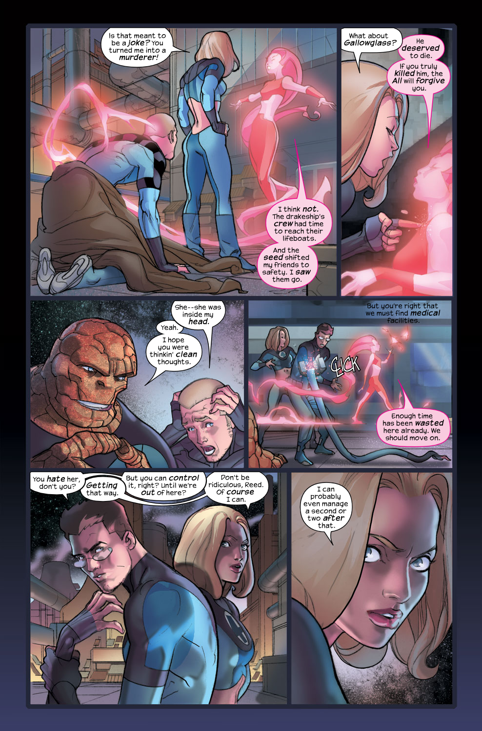 Read online Ultimate Fantastic Four (2004) comic -  Issue #36 - 7