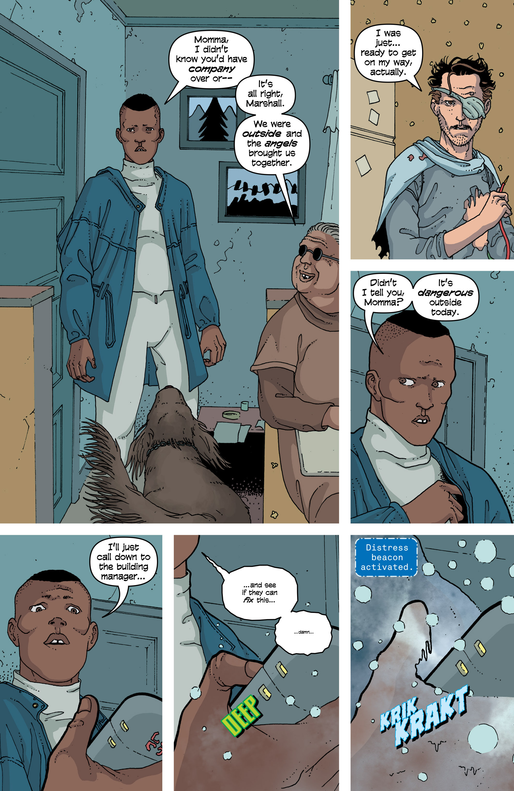Read online Snowfall comic -  Issue #6 - 19