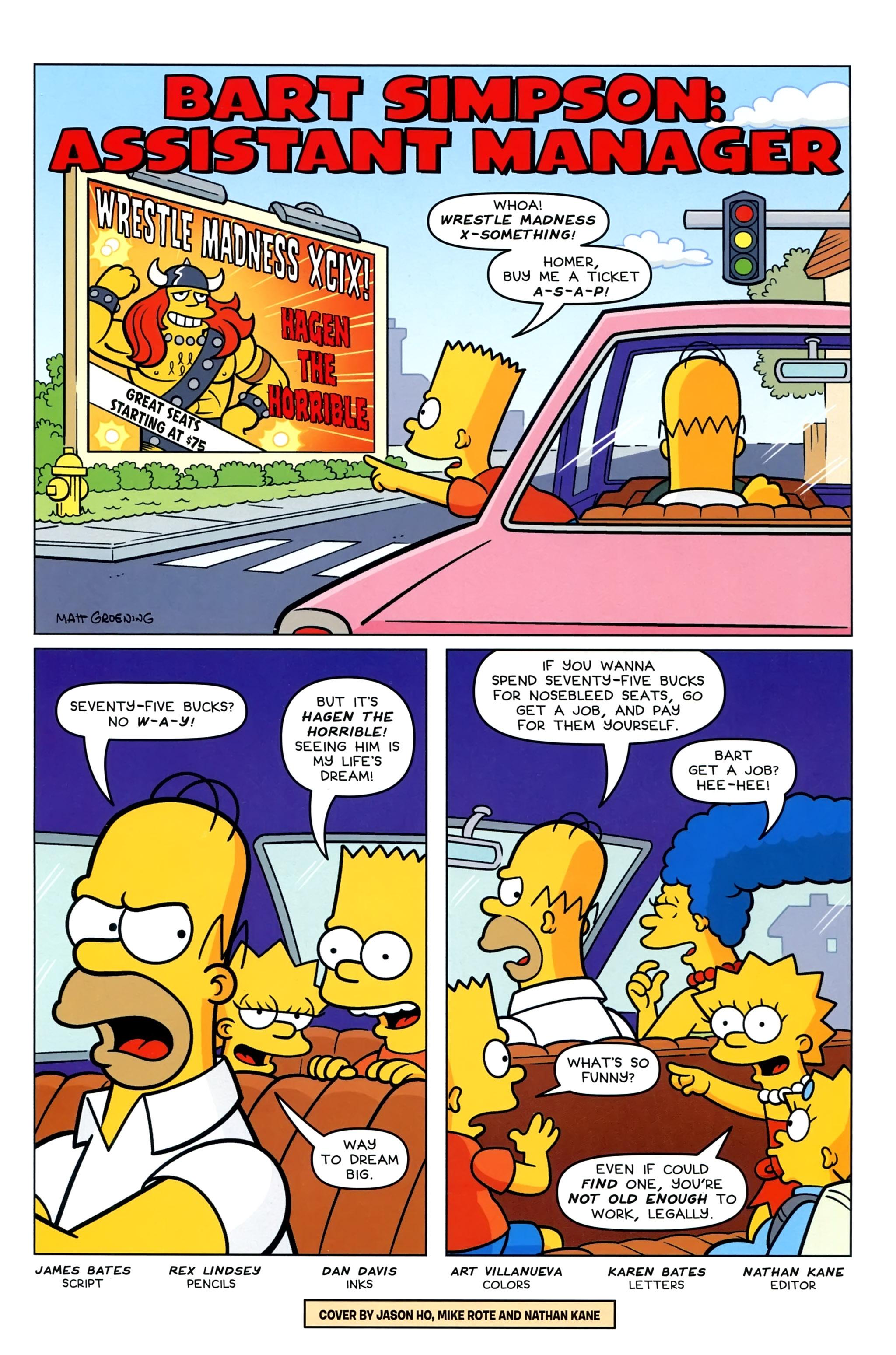 Read online Simpsons Comics Presents Bart Simpson comic -  Issue #95 - 3
