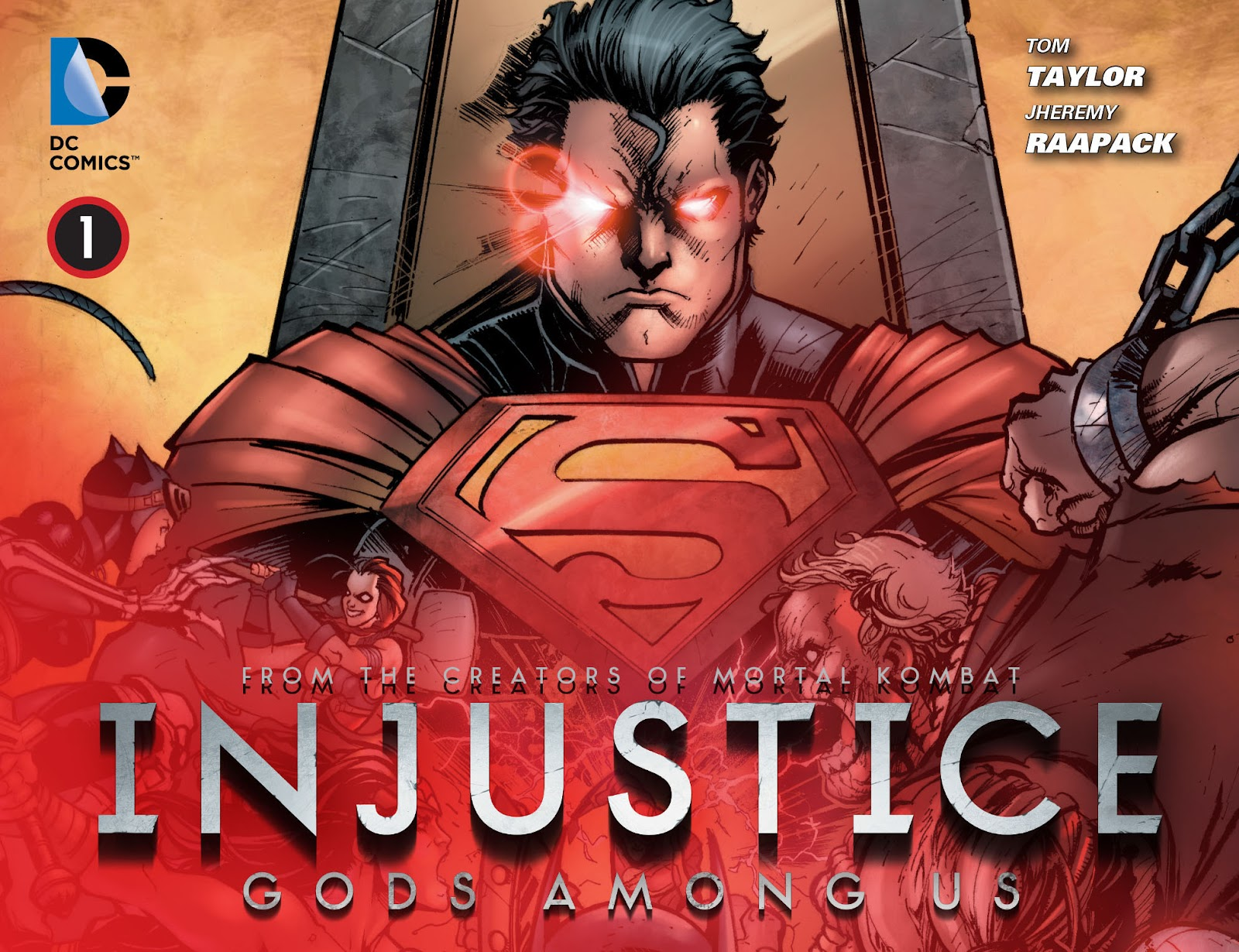 Injustice: Gods Among Us [I] issue 01 - Page 1