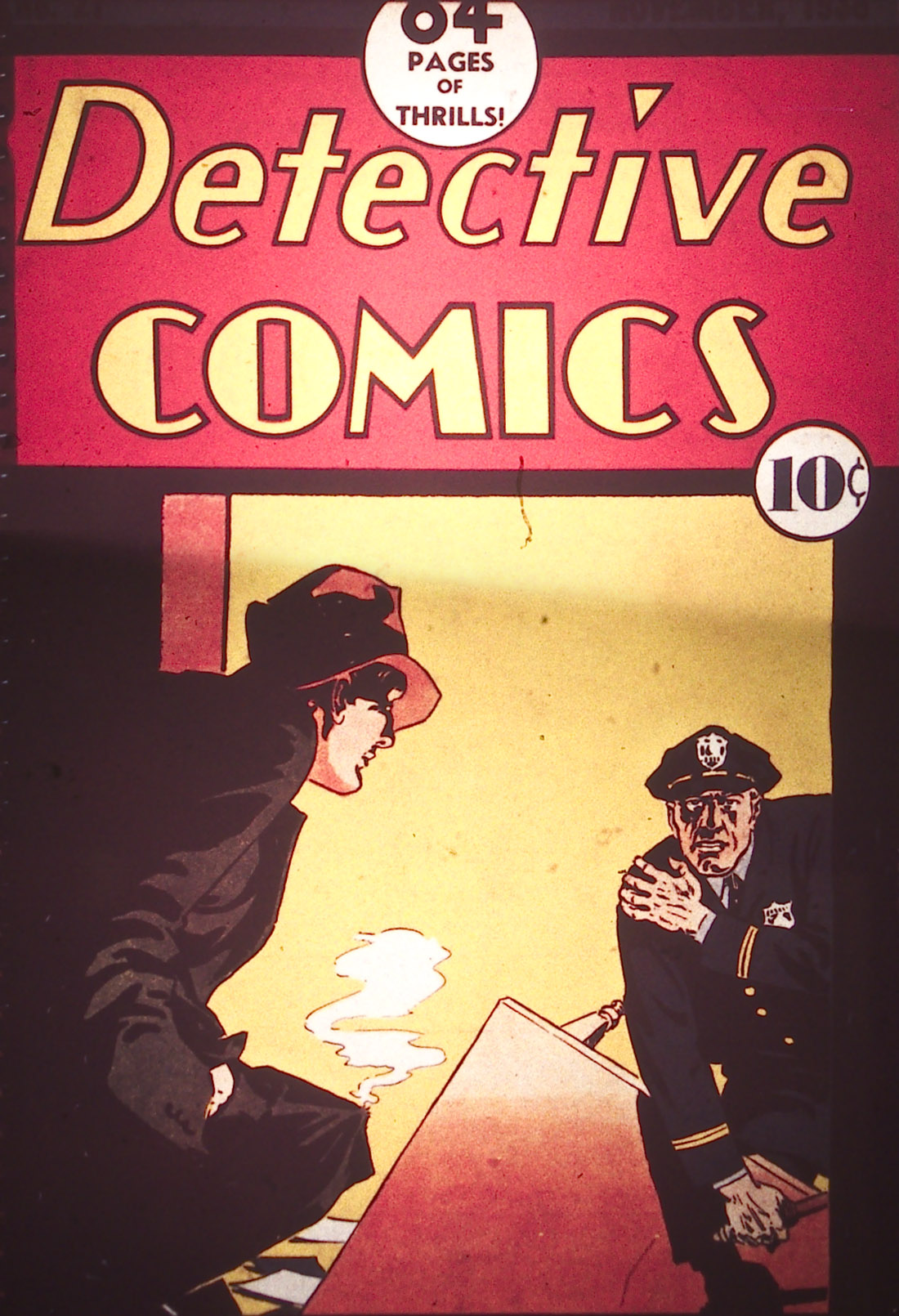 Read online Detective Comics (1937) comic -  Issue #21 - 1