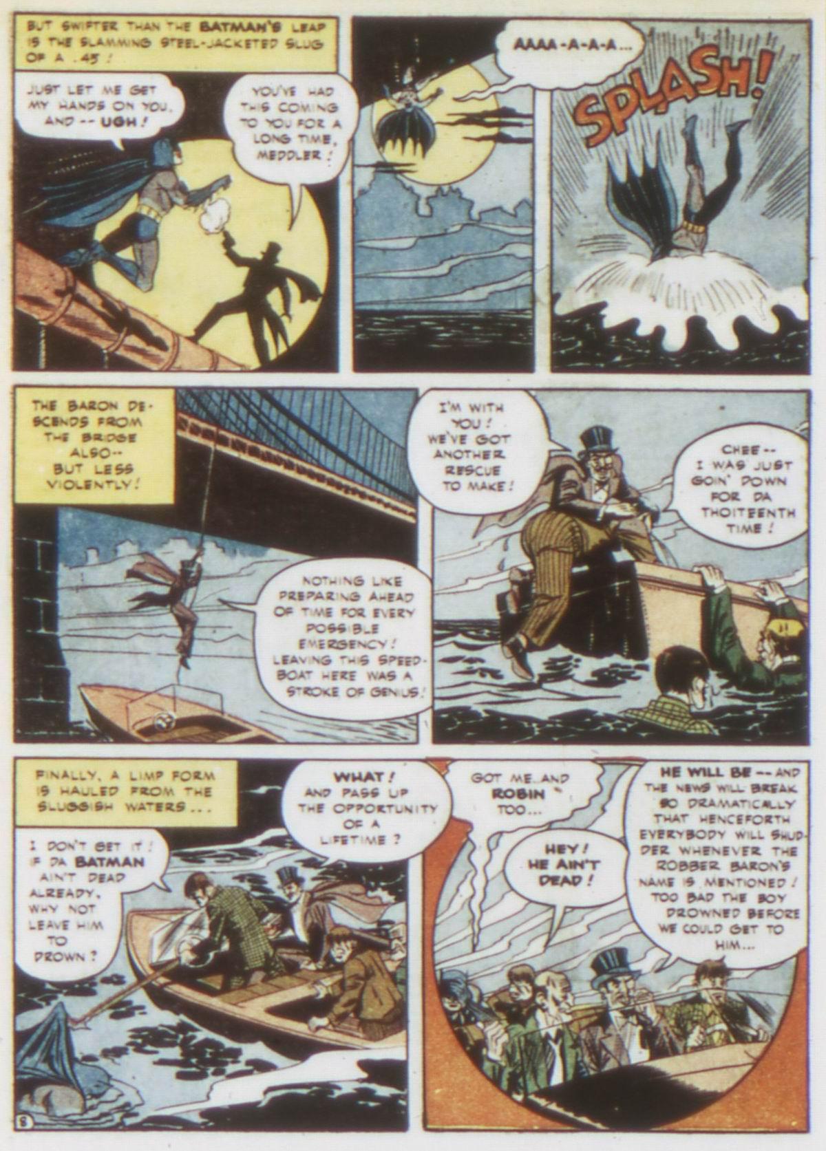Read online Detective Comics (1937) comic -  Issue #75 - 10