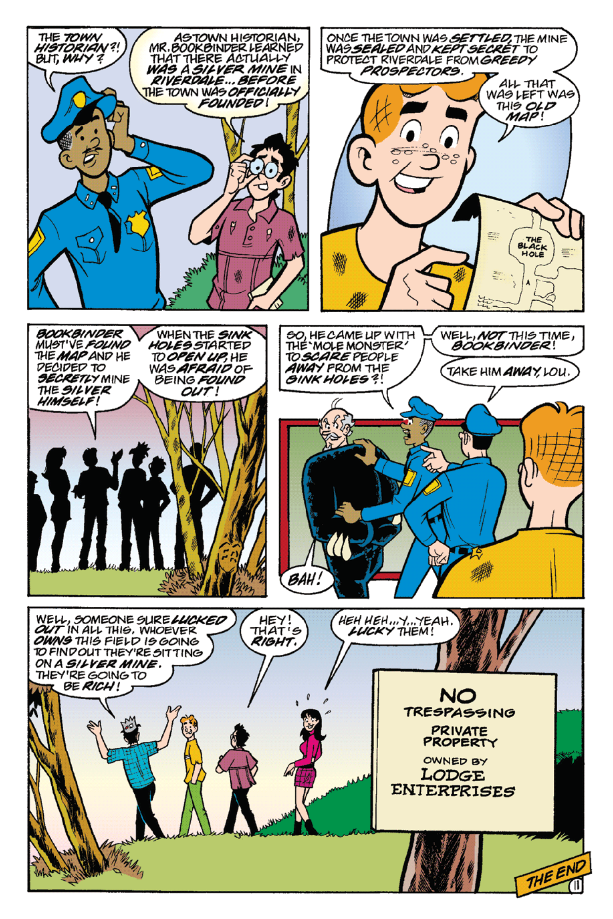 Read online Archie's Weird Mysteries comic -  Issue #22 - 25