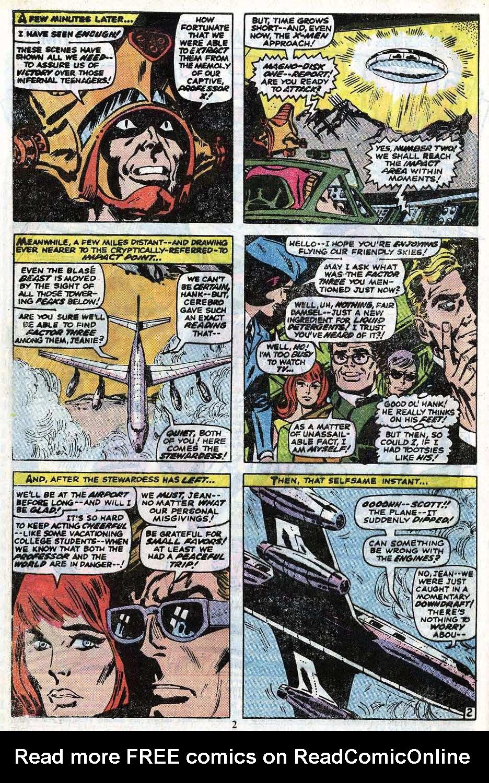 Read online Uncanny X-Men (1963) comic -  Issue #85 - 4