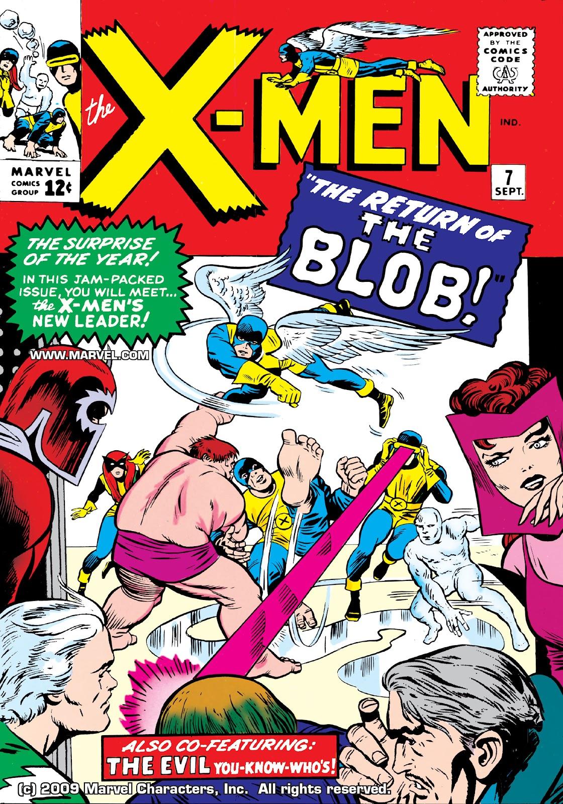 Uncanny X-Men (1963) issue 7 - Page 1