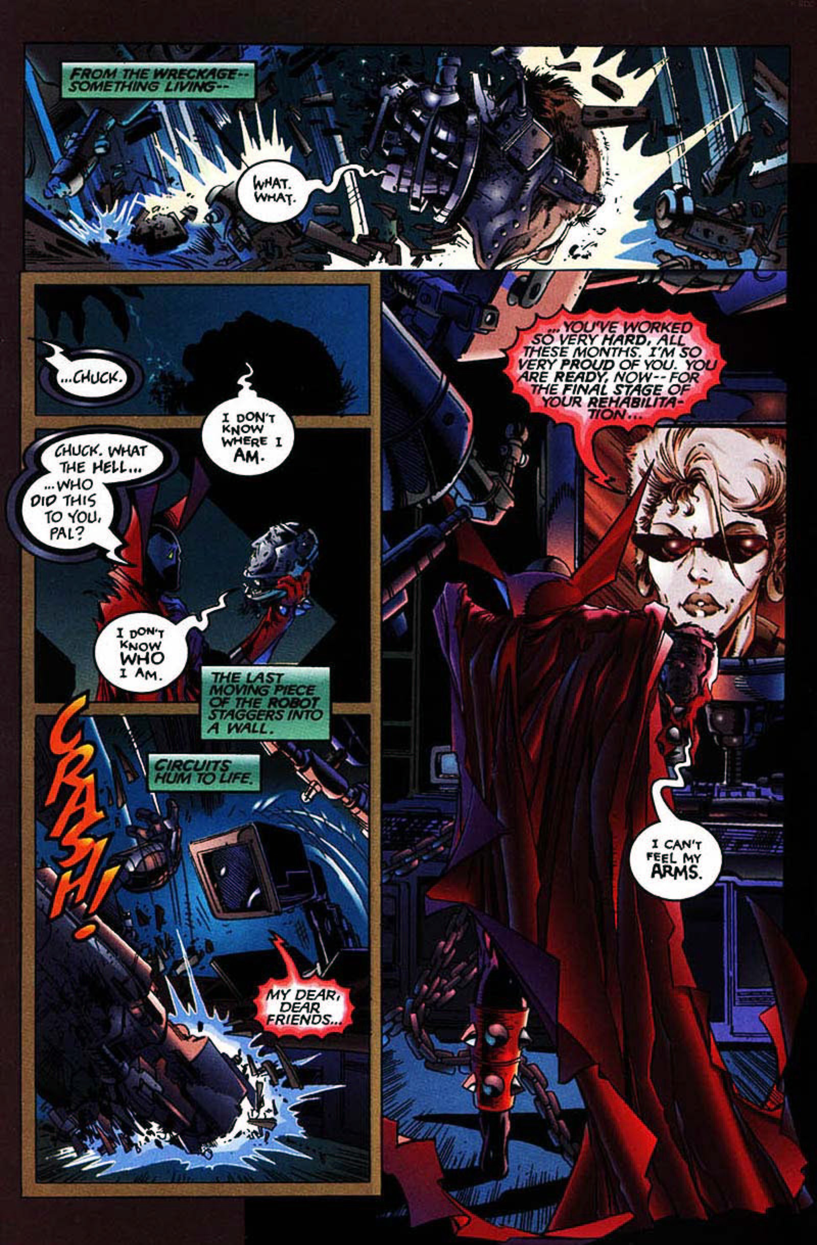 Read online Spawn-Batman comic -  Issue # Full - 27