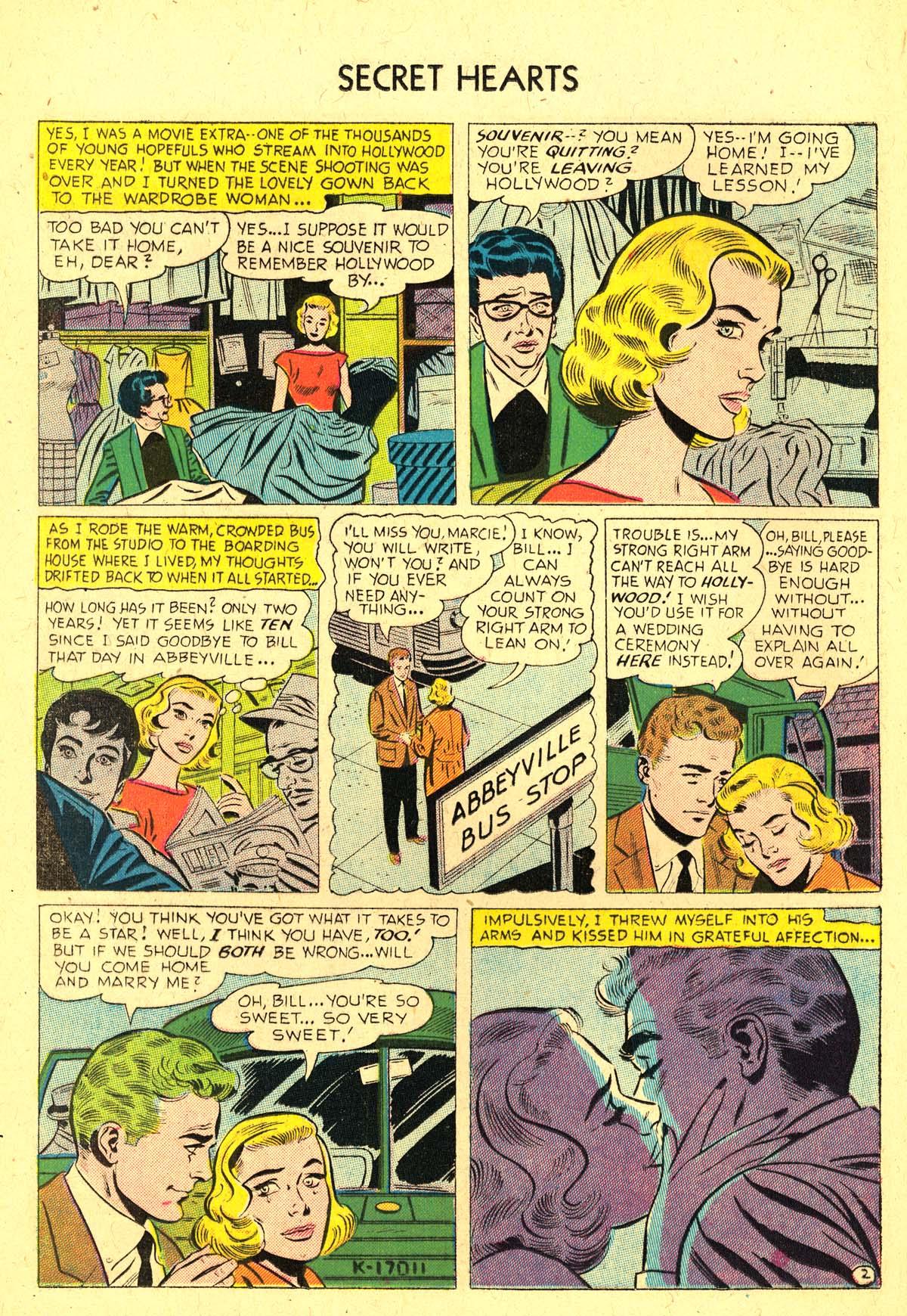 Read online Secret Hearts comic -  Issue #37 - 20