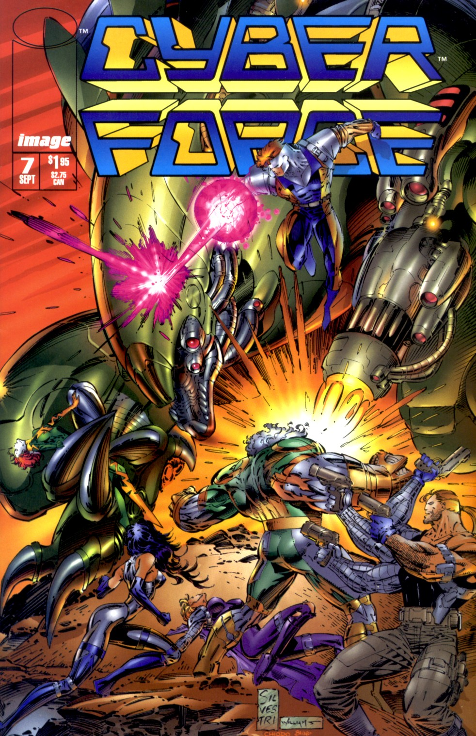 Cyberforce (1993) issue 7 - Page 1