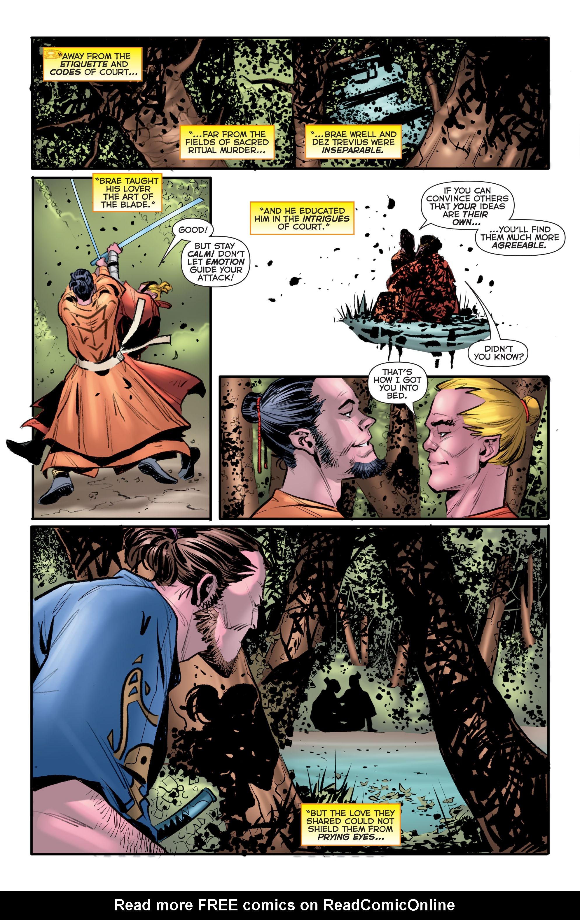 Read online Sinestro comic -  Issue # Annual 1 - 35