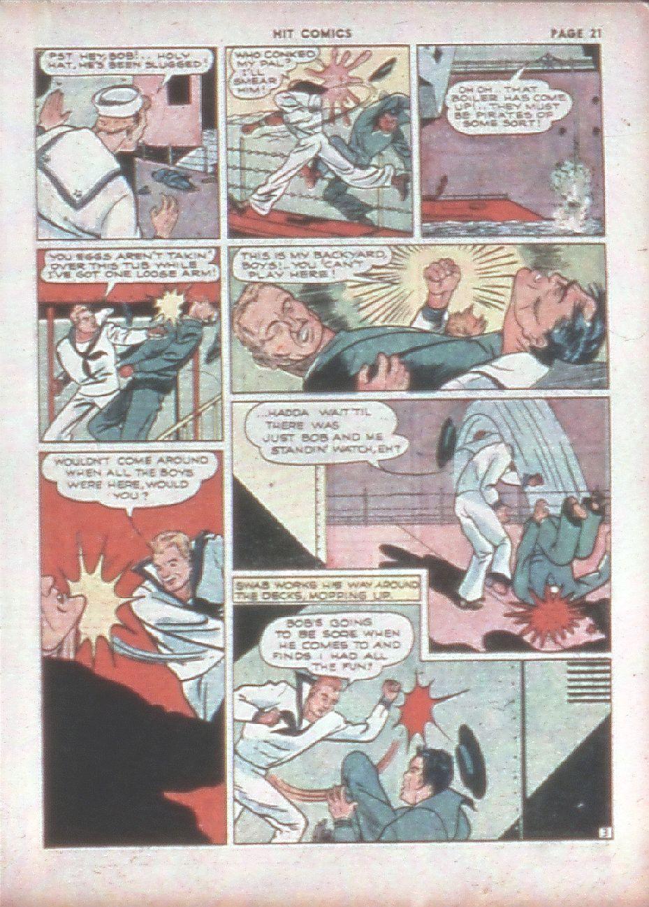 Read online Hit Comics comic -  Issue #8 - 23