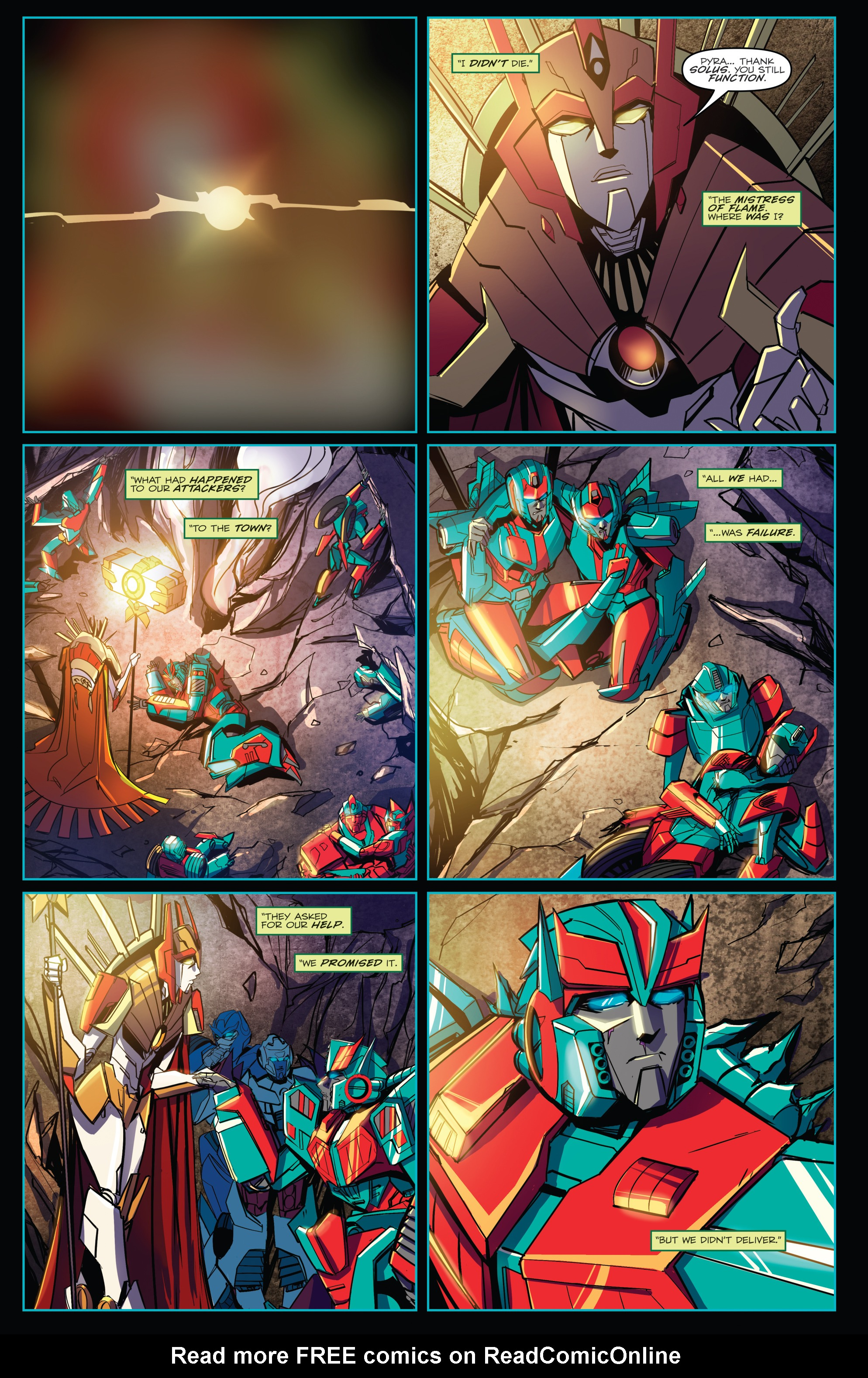 Read online Transformers Annual comic -  Issue # Full - 30