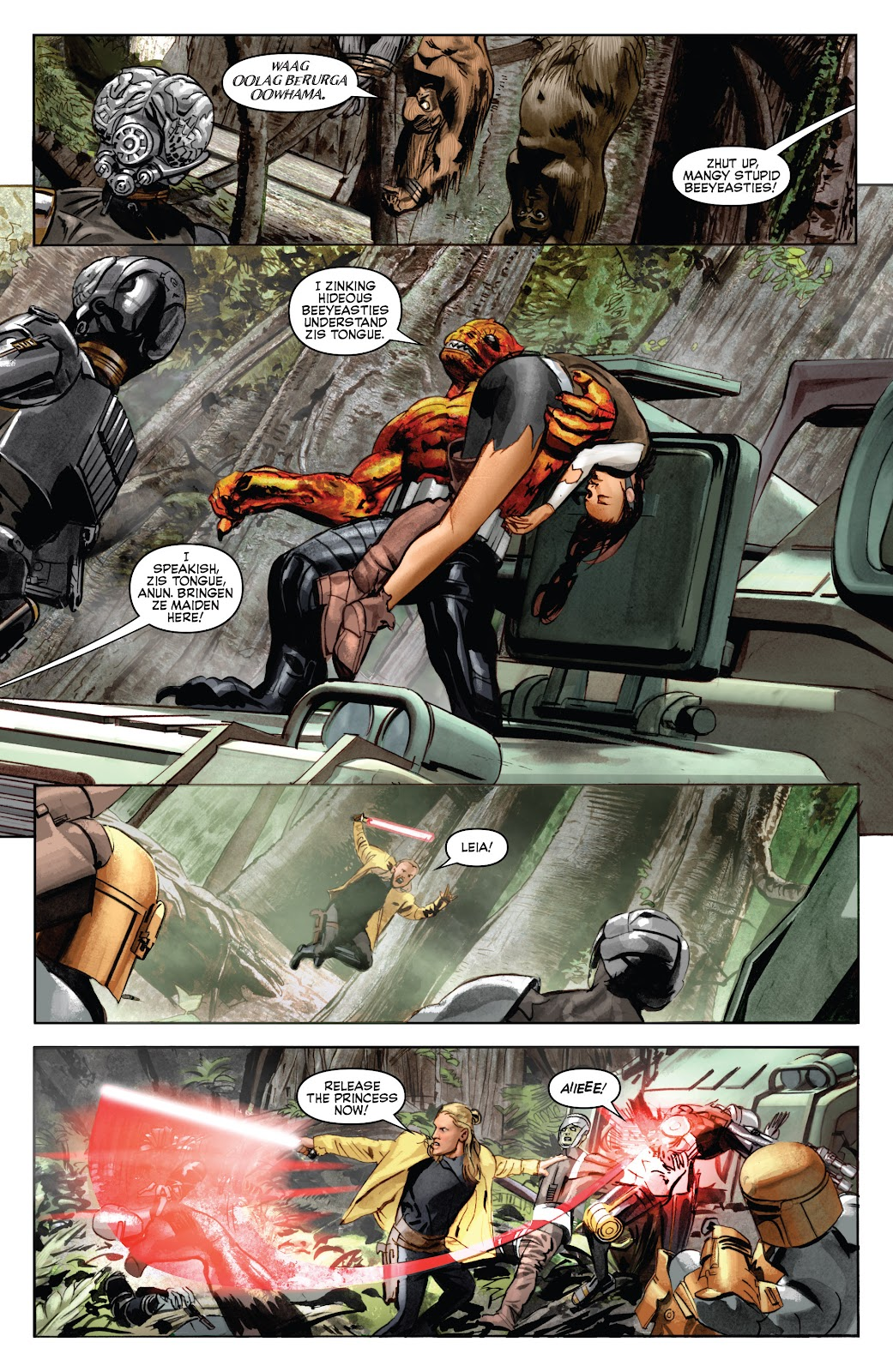 Read online Star Wars Legends: Infinities - Epic Collection comic -  Issue # TPB (Part 5) - 33